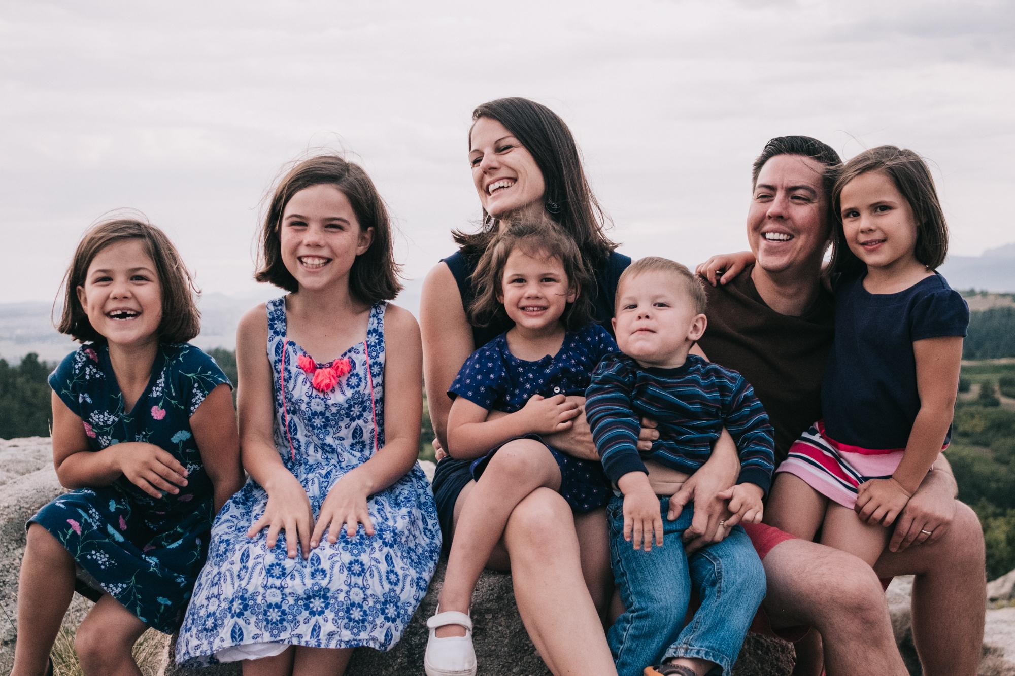 colorado family mini session daniel's park