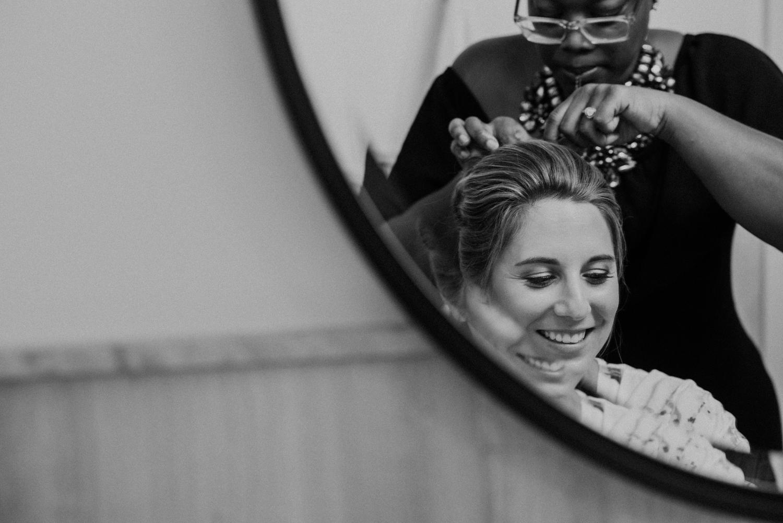 DC Line Hotel Bride Getting Ready