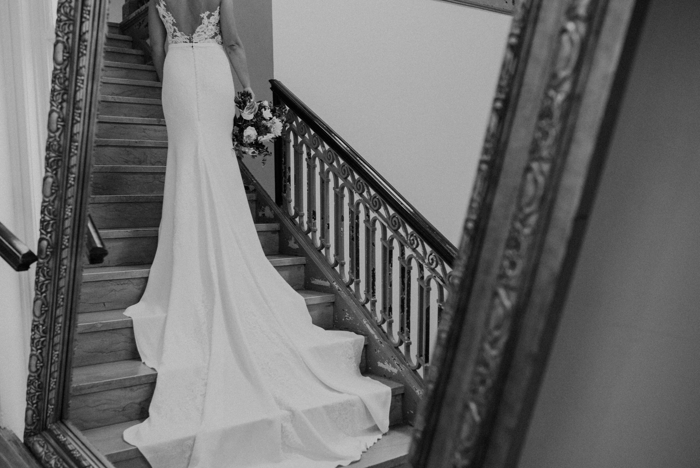 dc line hotel mirror dress portrait