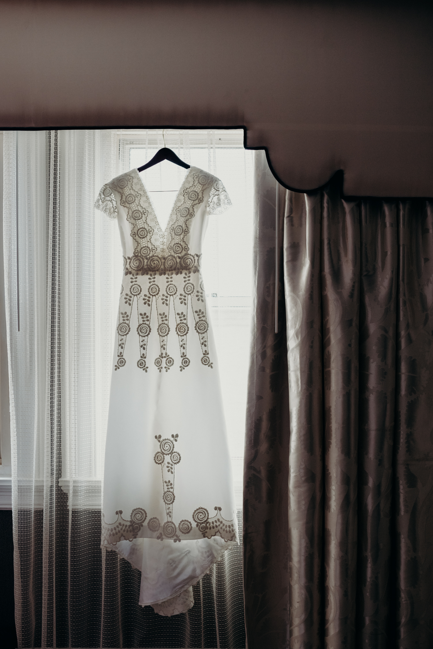 Brandee Mathis wedding dress washington dc