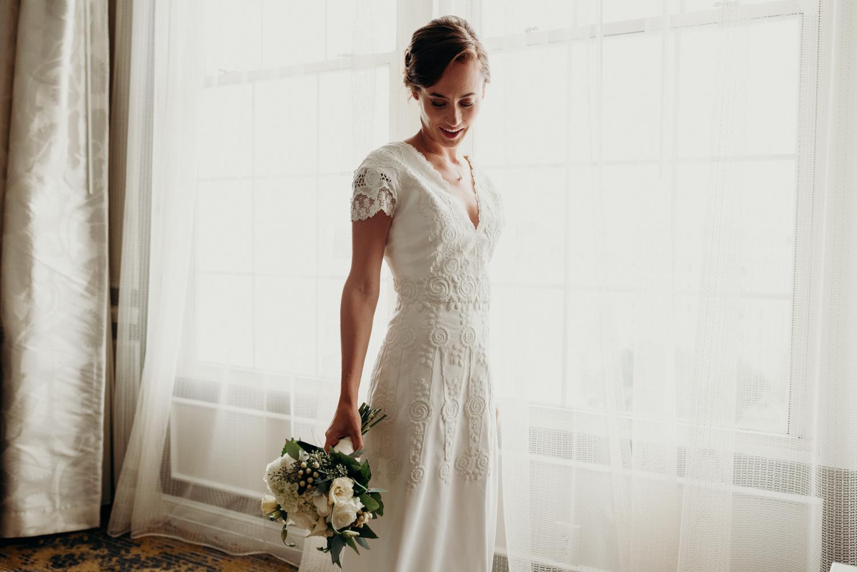 DC bridal getting ready inspiration The Churchill Hotel