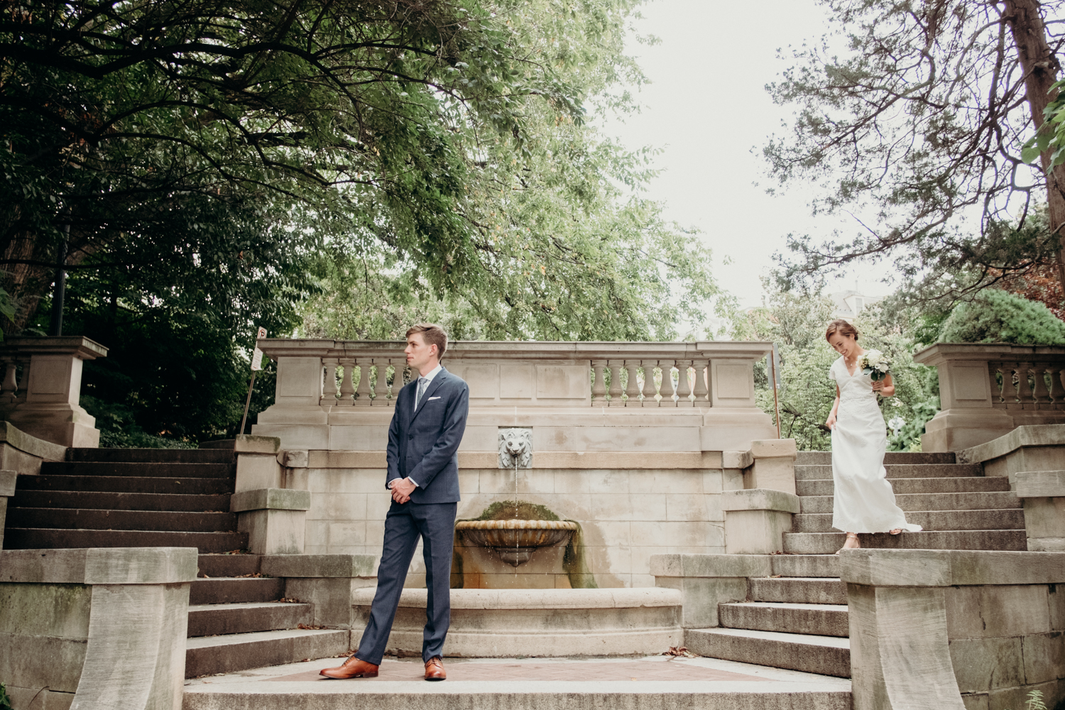 DC Spanish Steps first look portraits