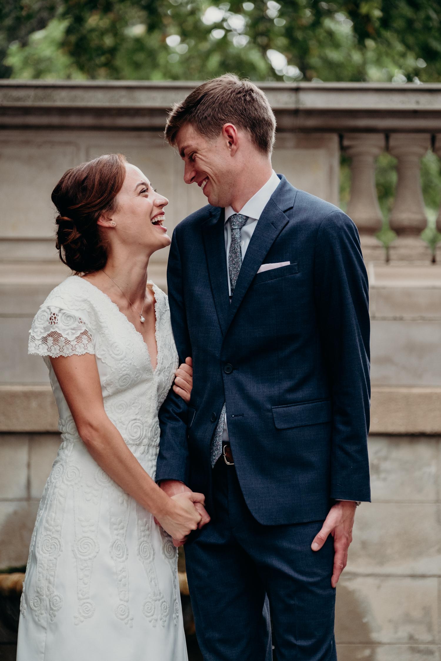 Spanish Steps wedding portraits