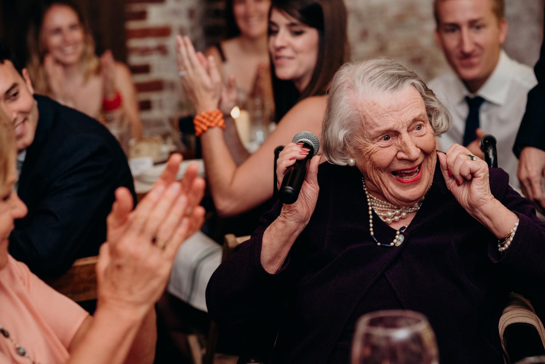 grandmother wedding reception toast