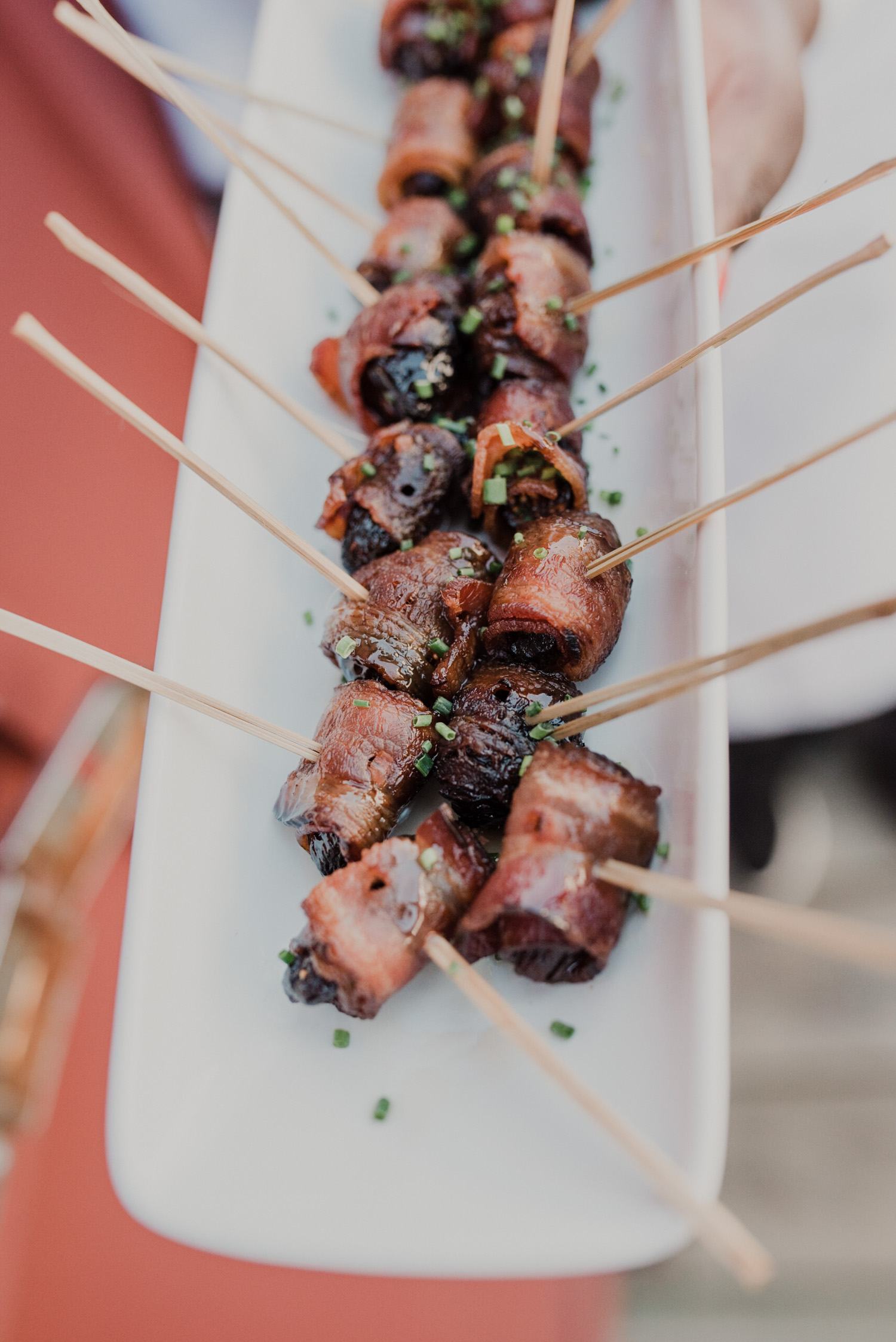 bacon wrapped cocktail hour appetizers