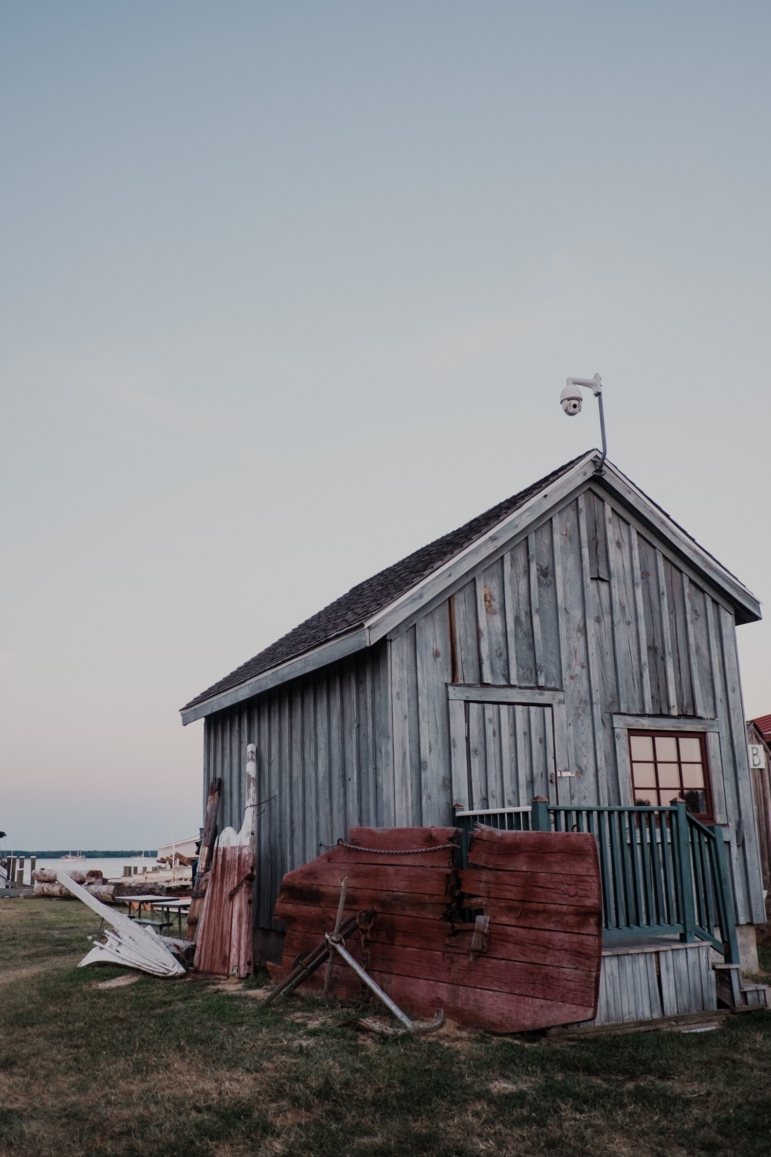 chesapeake bay maritime museum old boat house