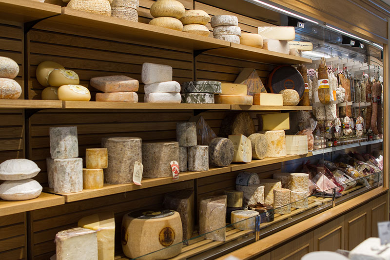 Cheese at our London shop