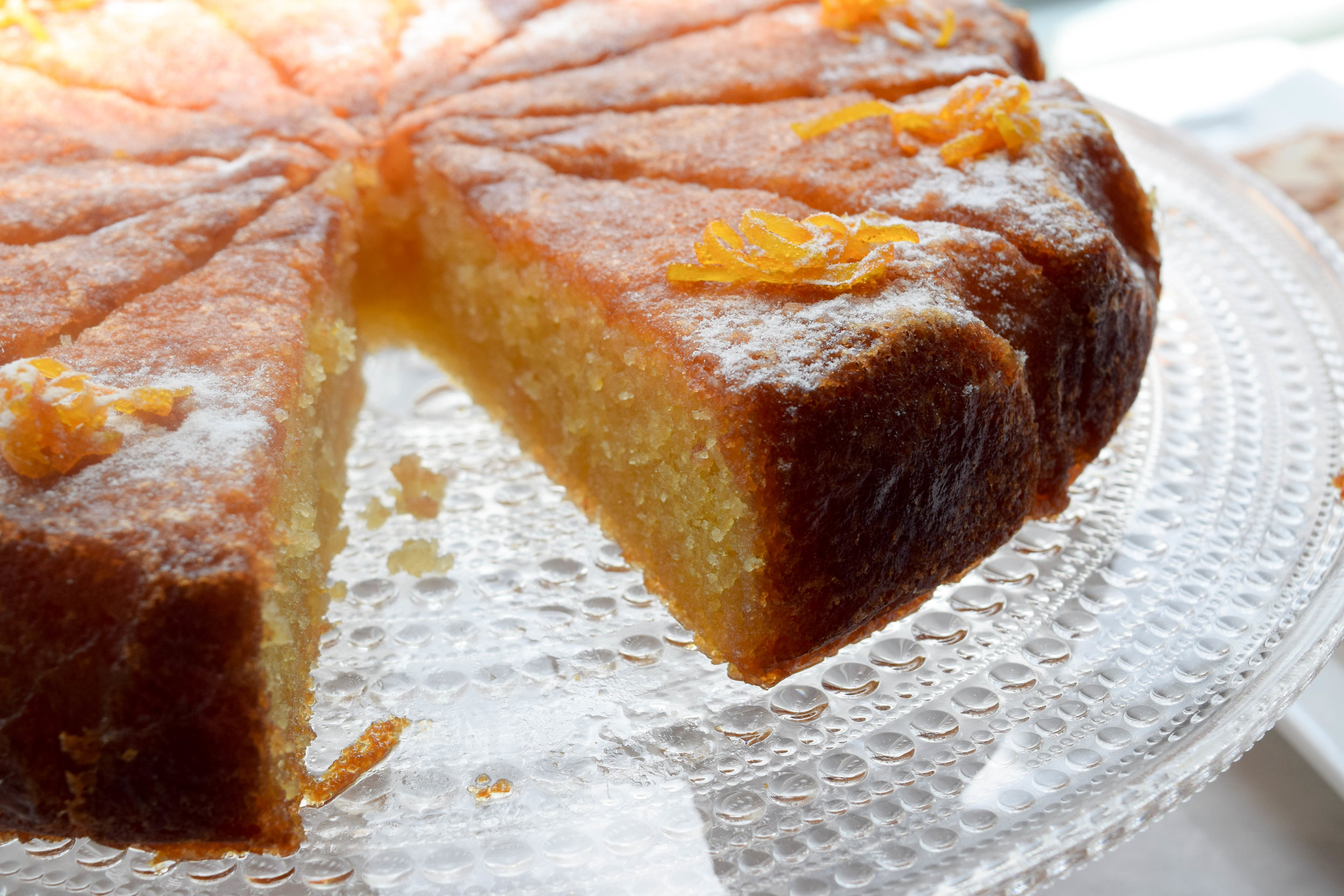 Tunisian Orange Cake at our Bath cheese shop