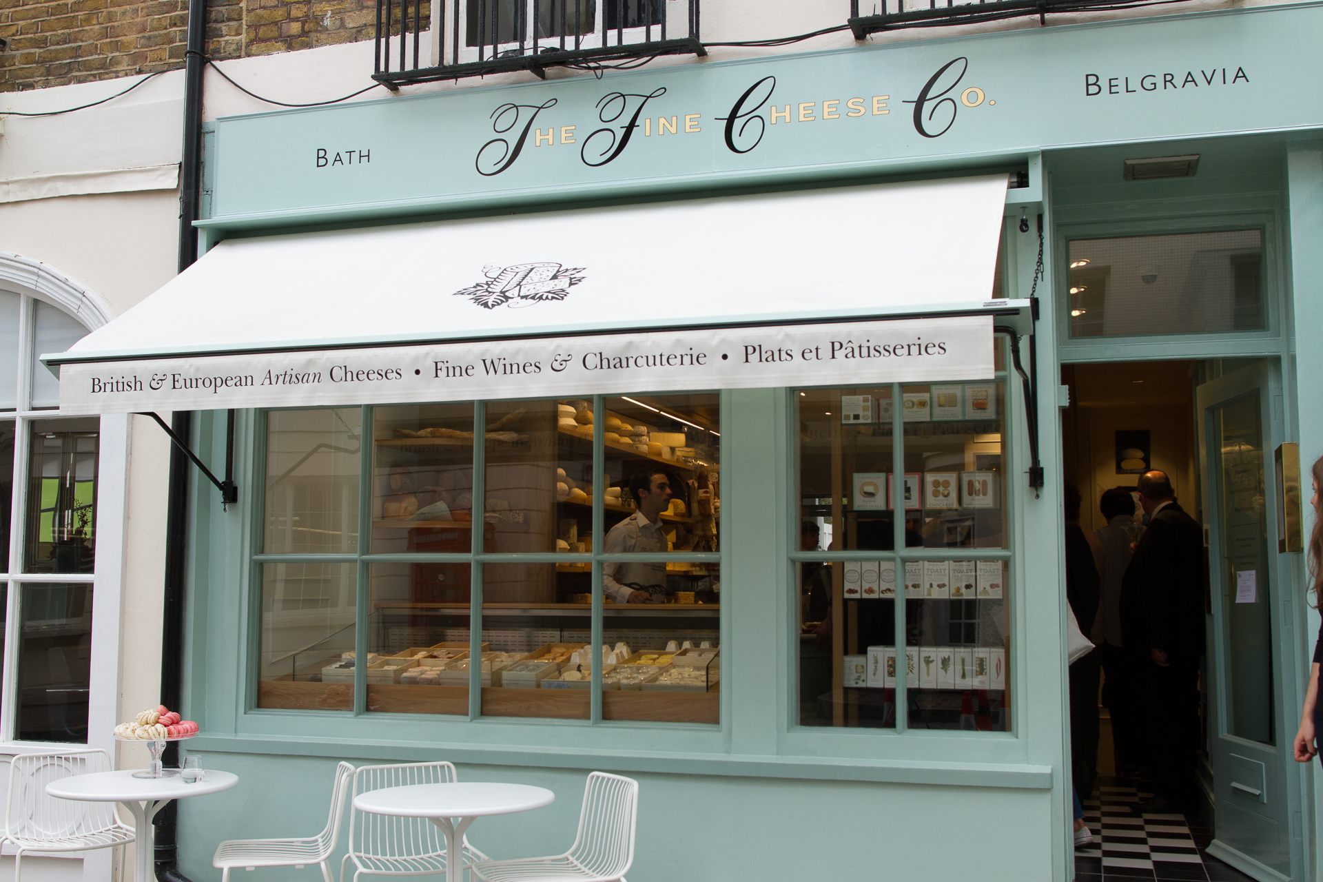 Our London cheese shop