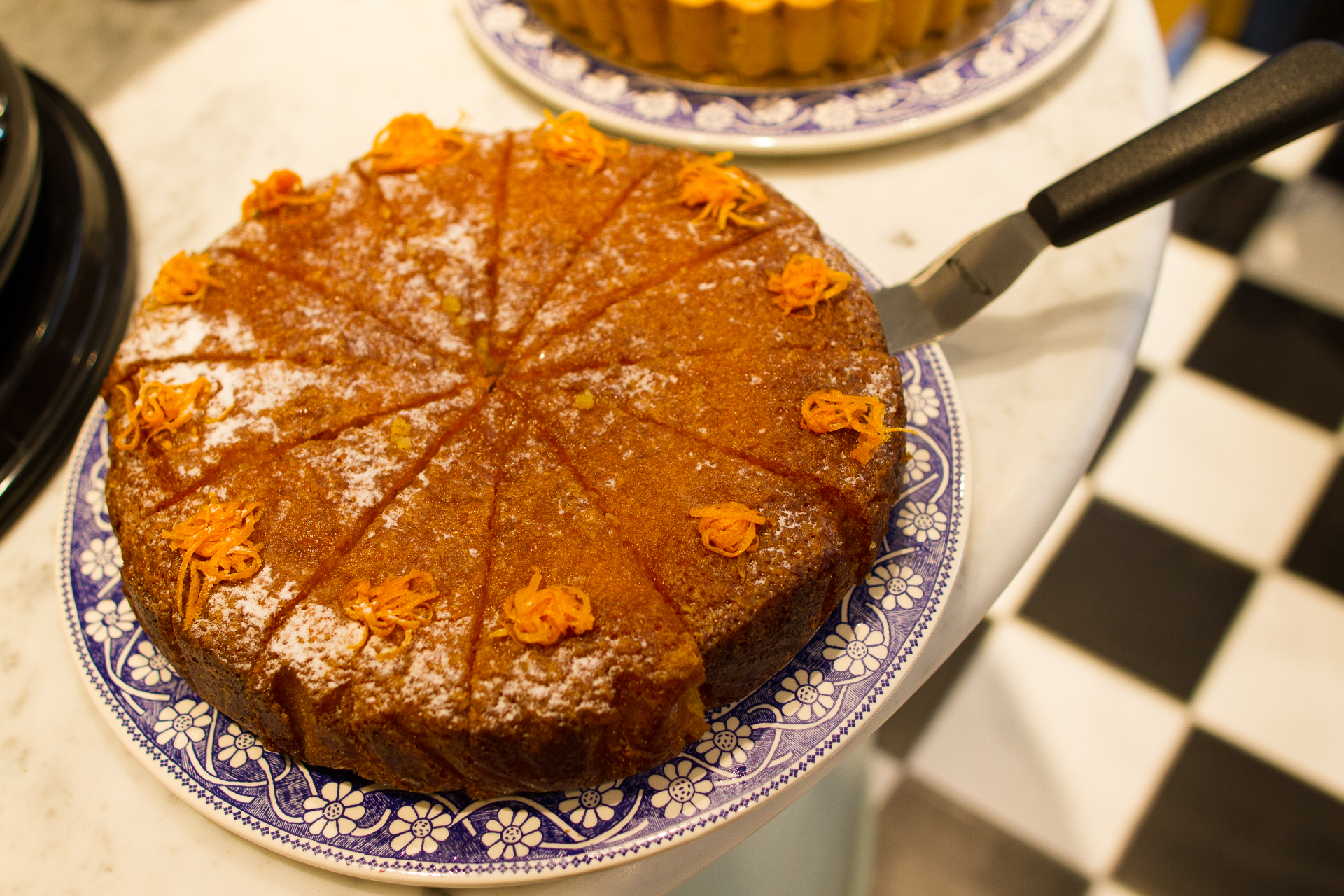 Tunisian Orange cake at our London cheese shop