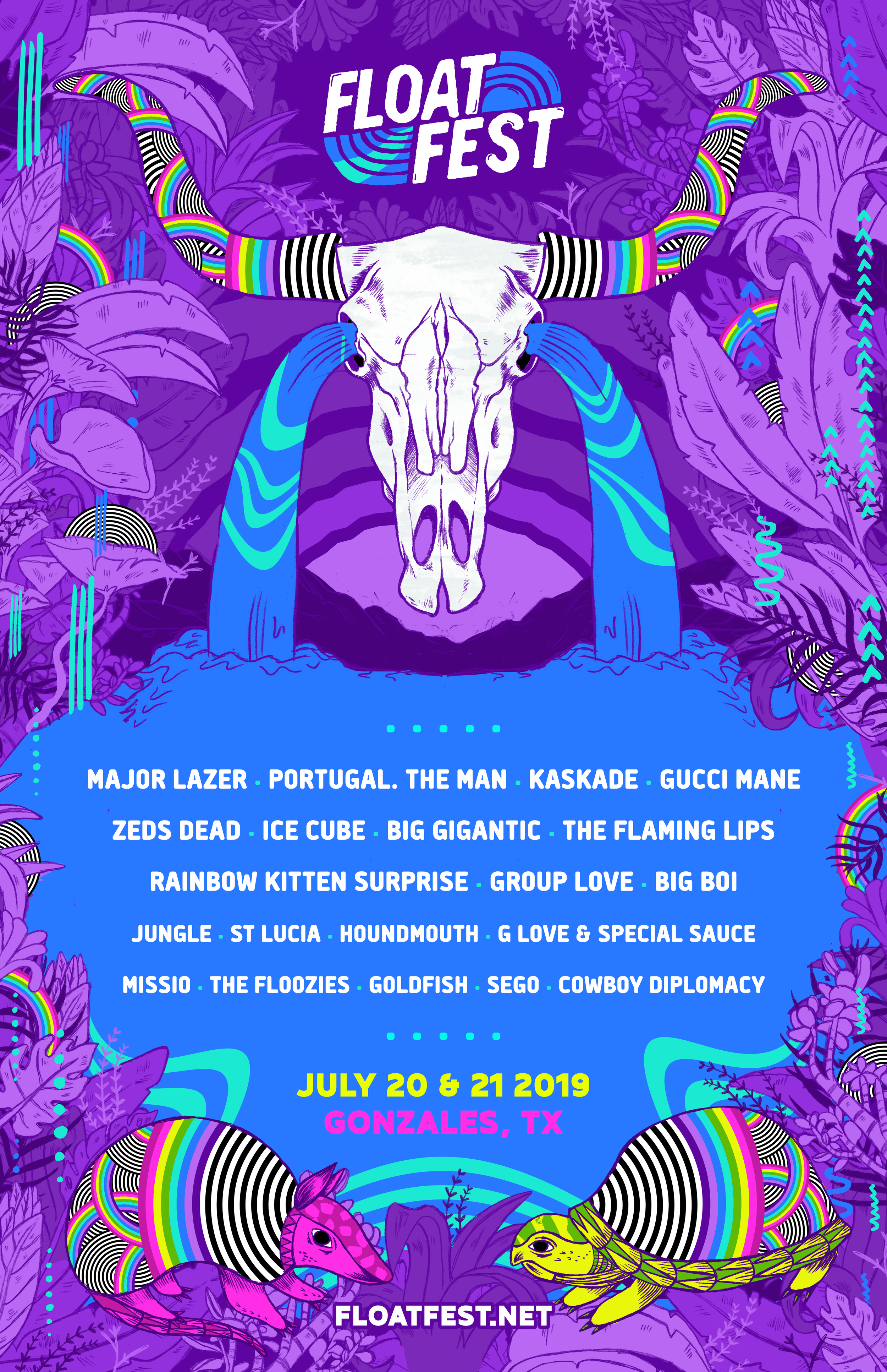 lineup poster