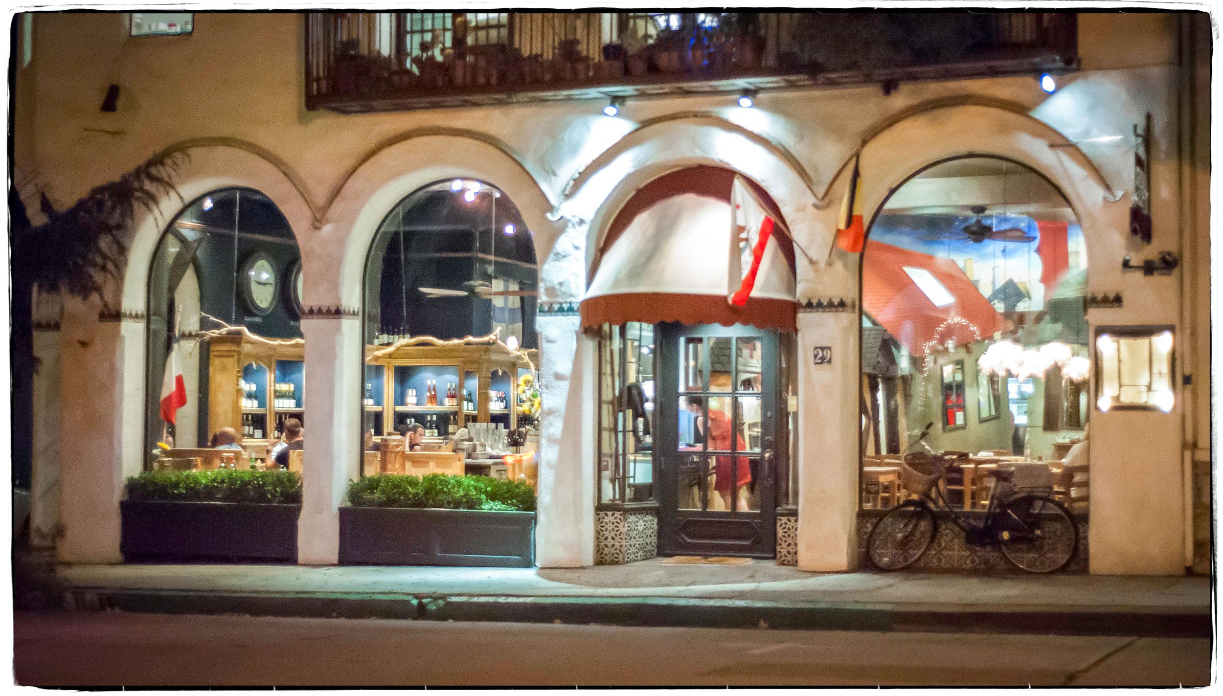 La Bicyclette Restaurant Front