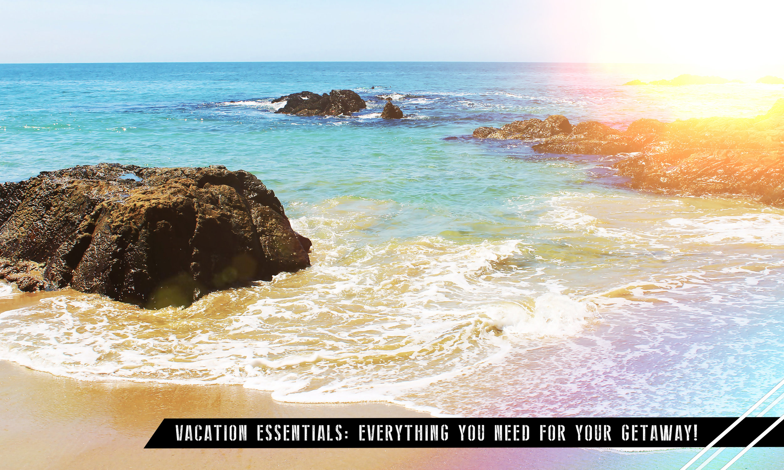 Vacation.YAY!It's supposed to be relaxing, but sometimes your skin and hair just don't want to cooperate.I travel a lot so here are my TOP TIPS to make your vacation,and you of course, as beautiful as possible!  - Angie DeGrazia