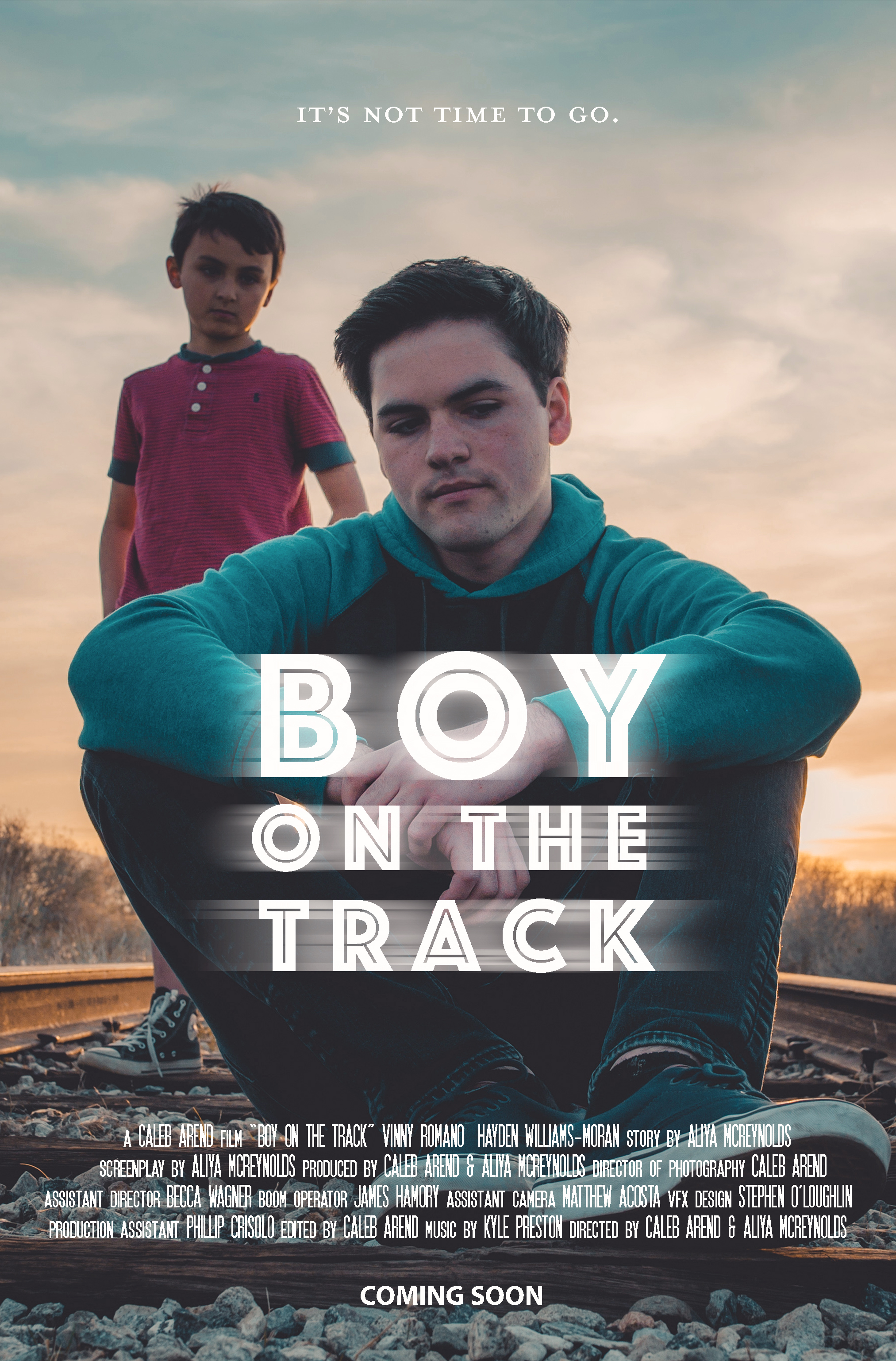 Official poster of  Boy on the Track.