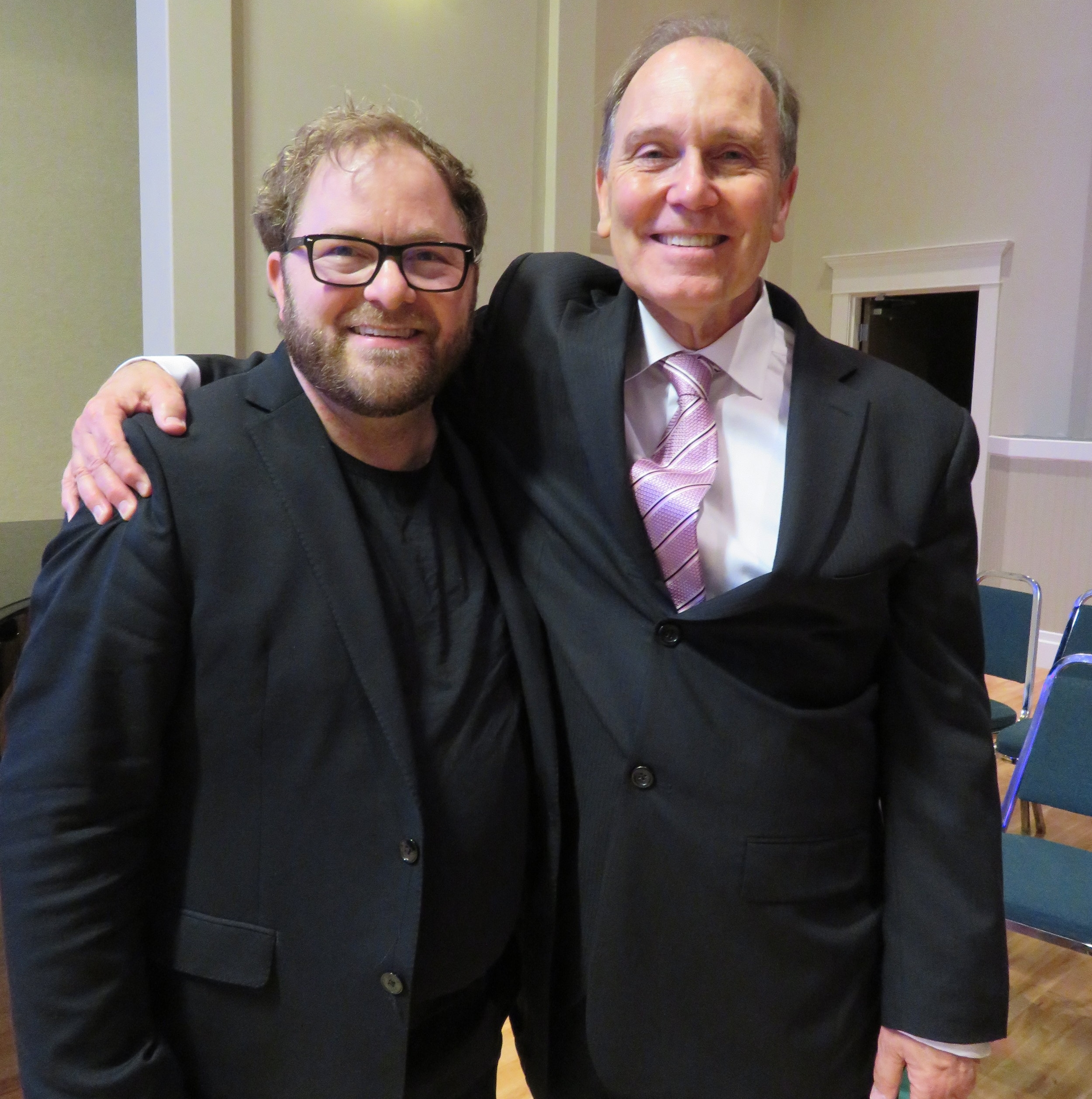 Carlos Foggin & Glen Montgomery May 15, 2018 - Glen performed the Emperor Concerto with the Rocky Mountain Symphony.