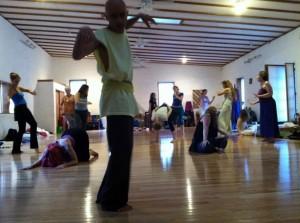 Dancing at Summer Monastery
