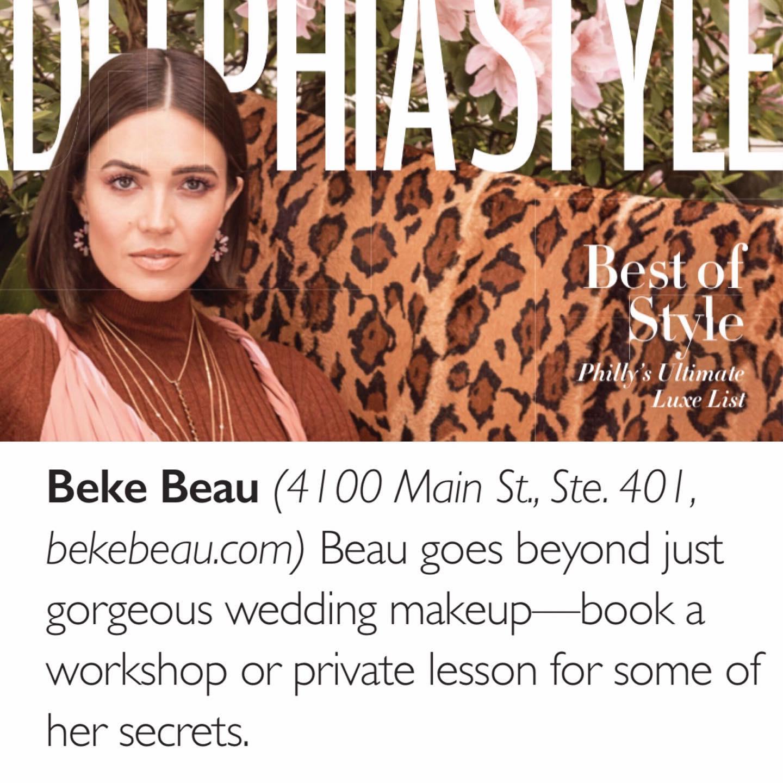 Philadelphia Style Magazine, Best of Style 2019