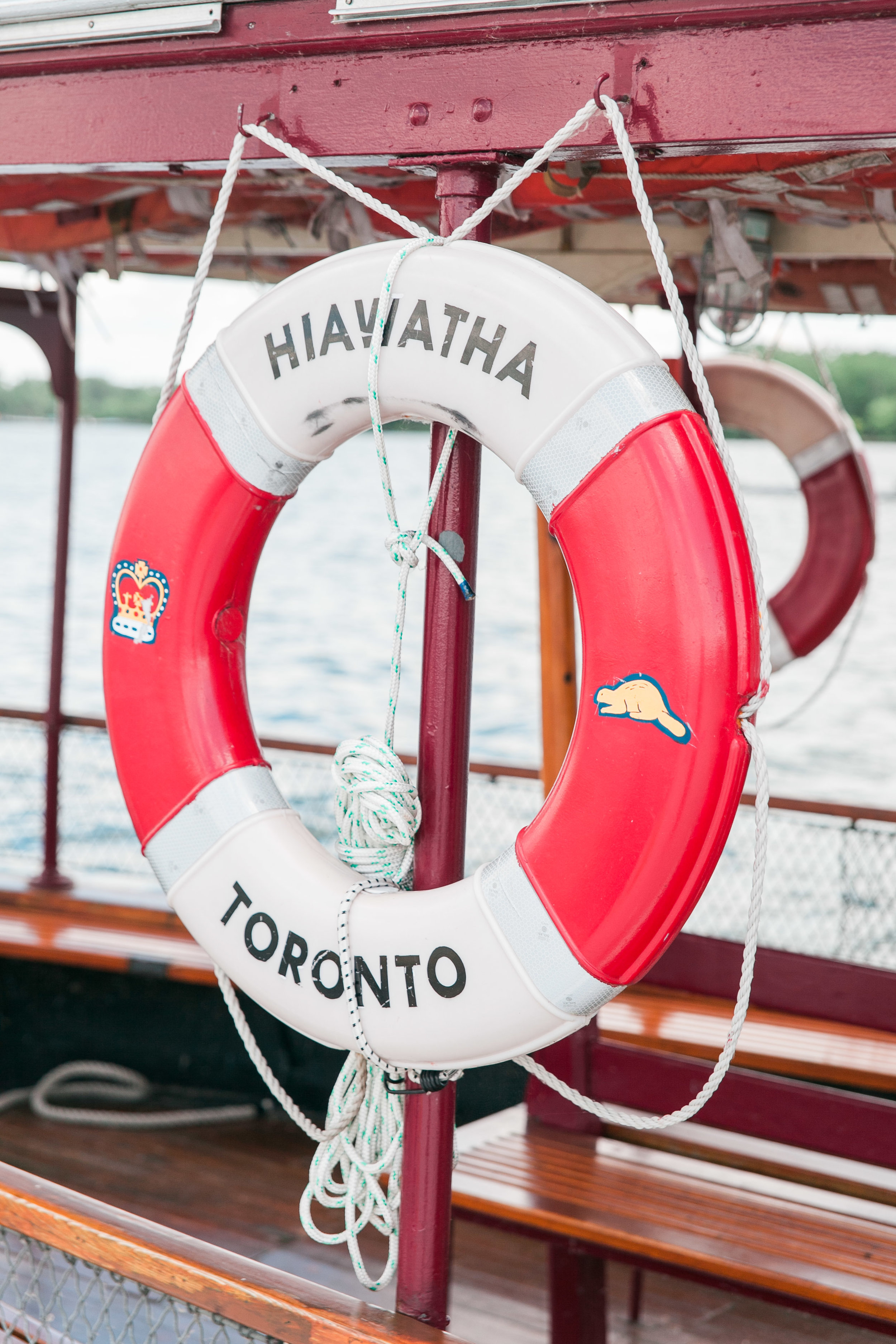 Toronto Island ferry life saver