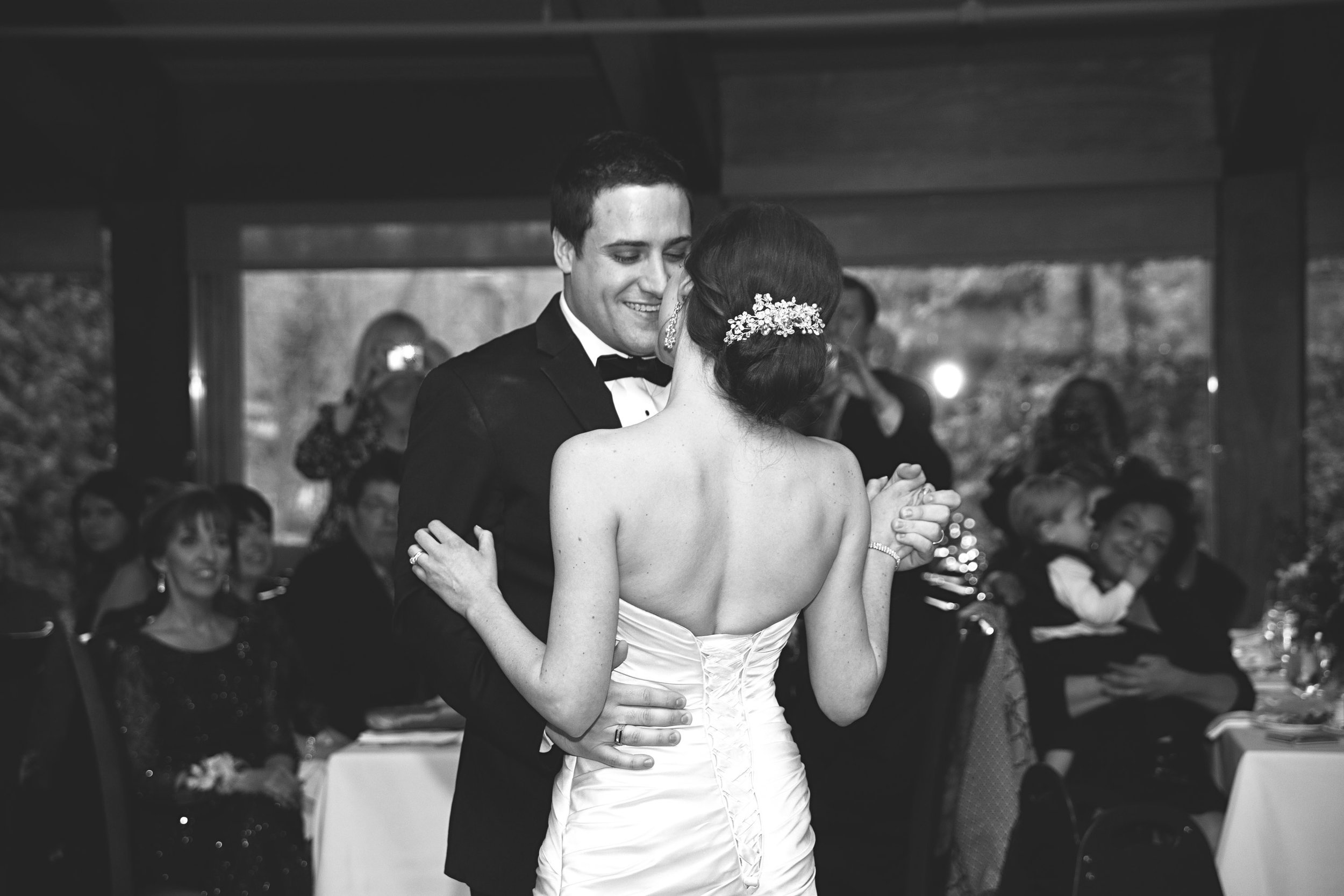 First dance at Ancaster Mill wedding