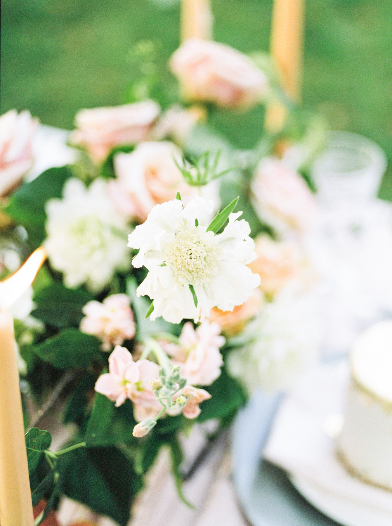 floral wedding centrepiece inspiration