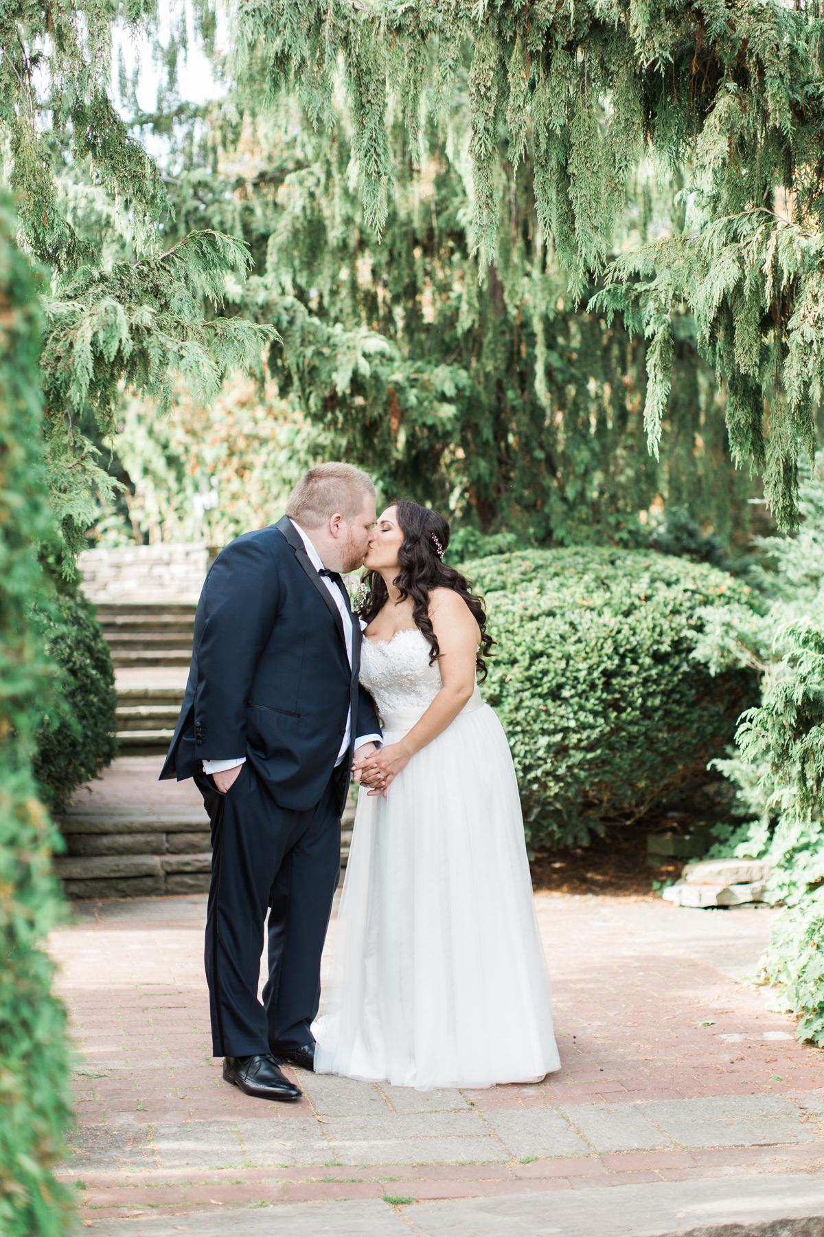 wedding photos at alexander muir gardens in toronto