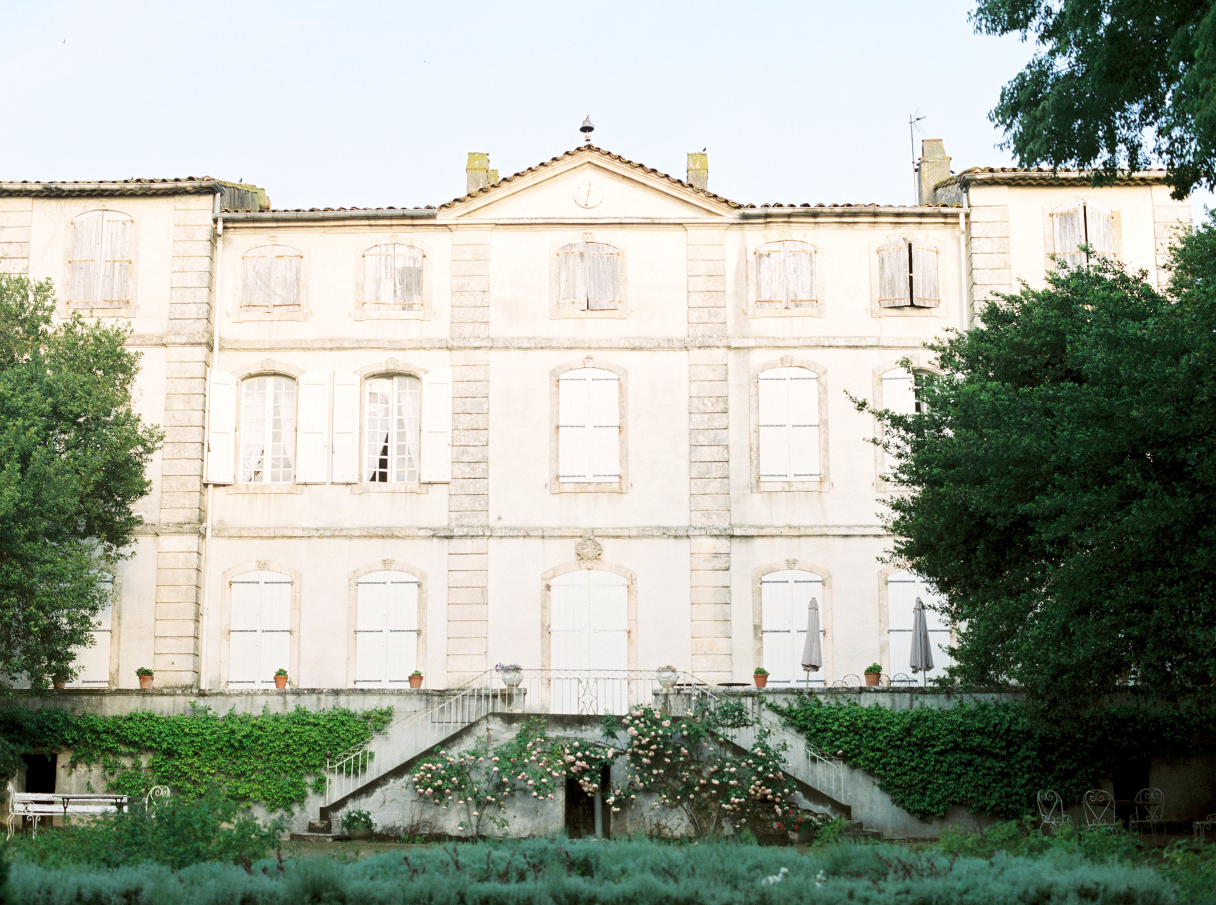 French countryside wedding venue.