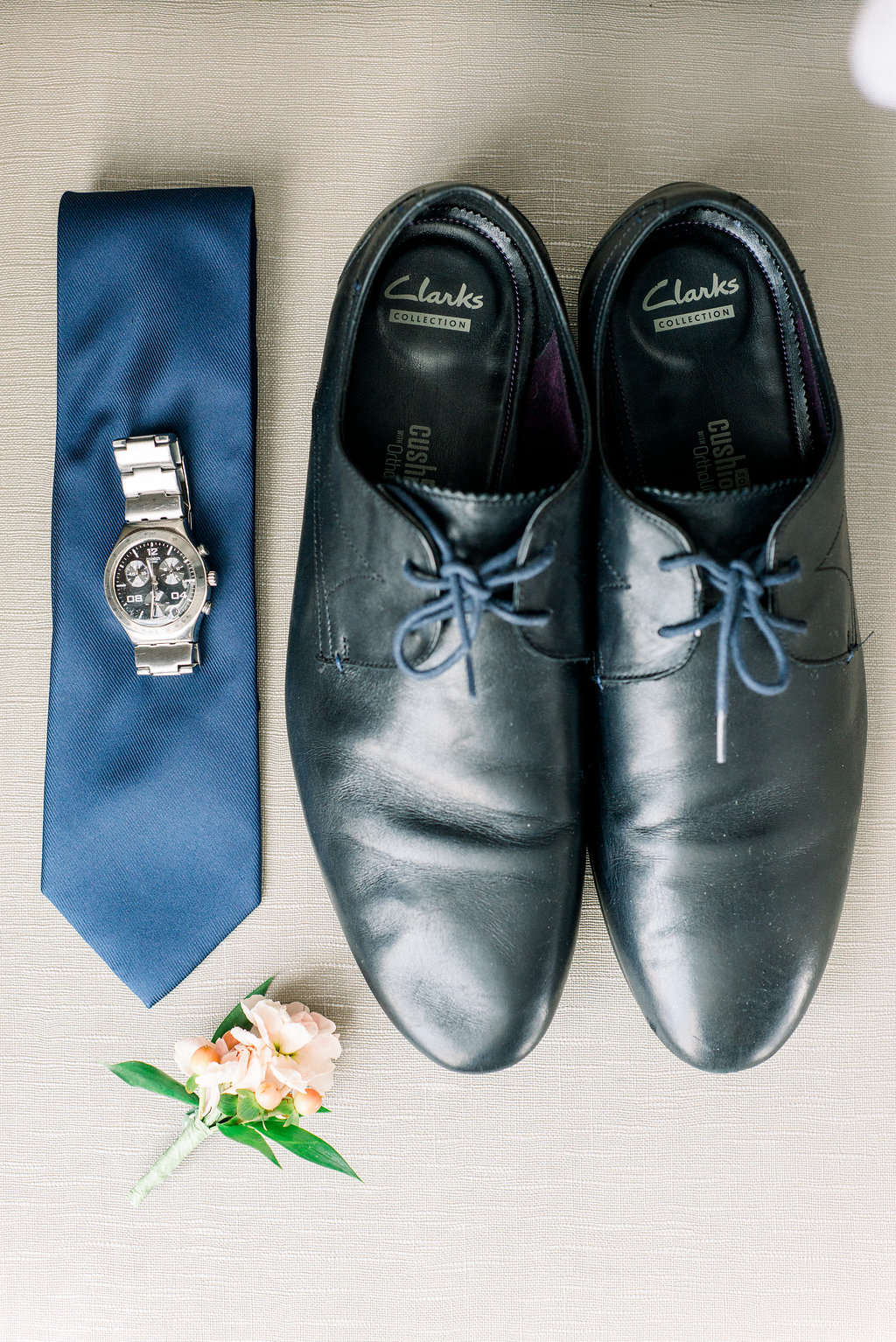 groom's wedding attire.