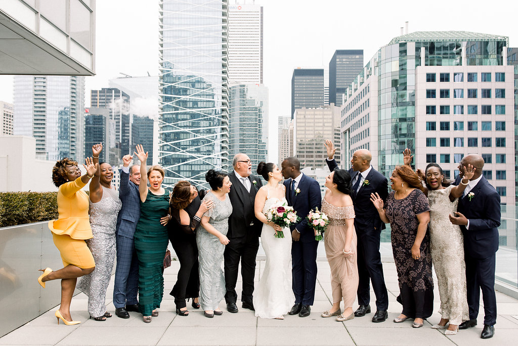 wedding at malaparte in toronto