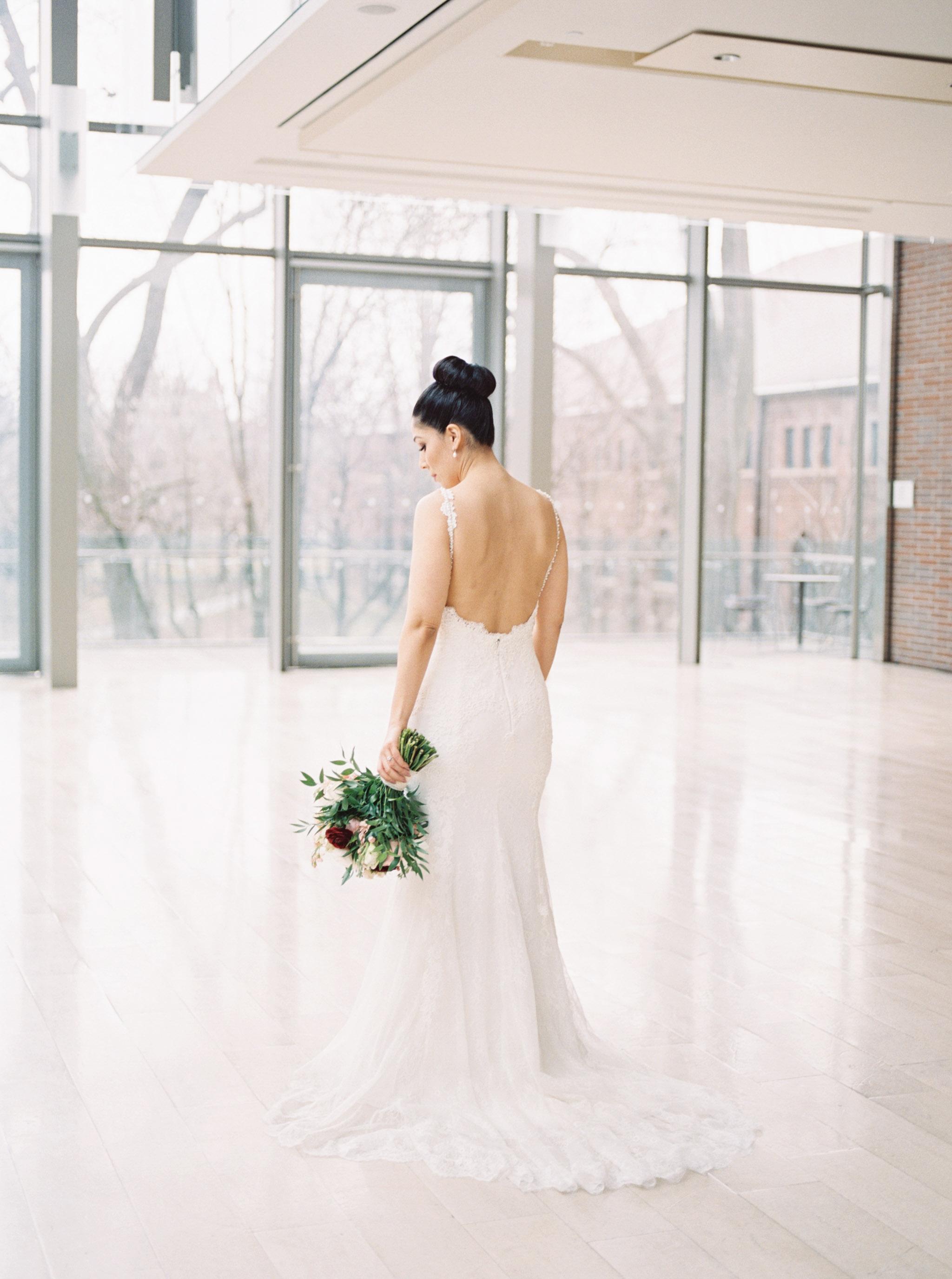 Bride in Toronto.