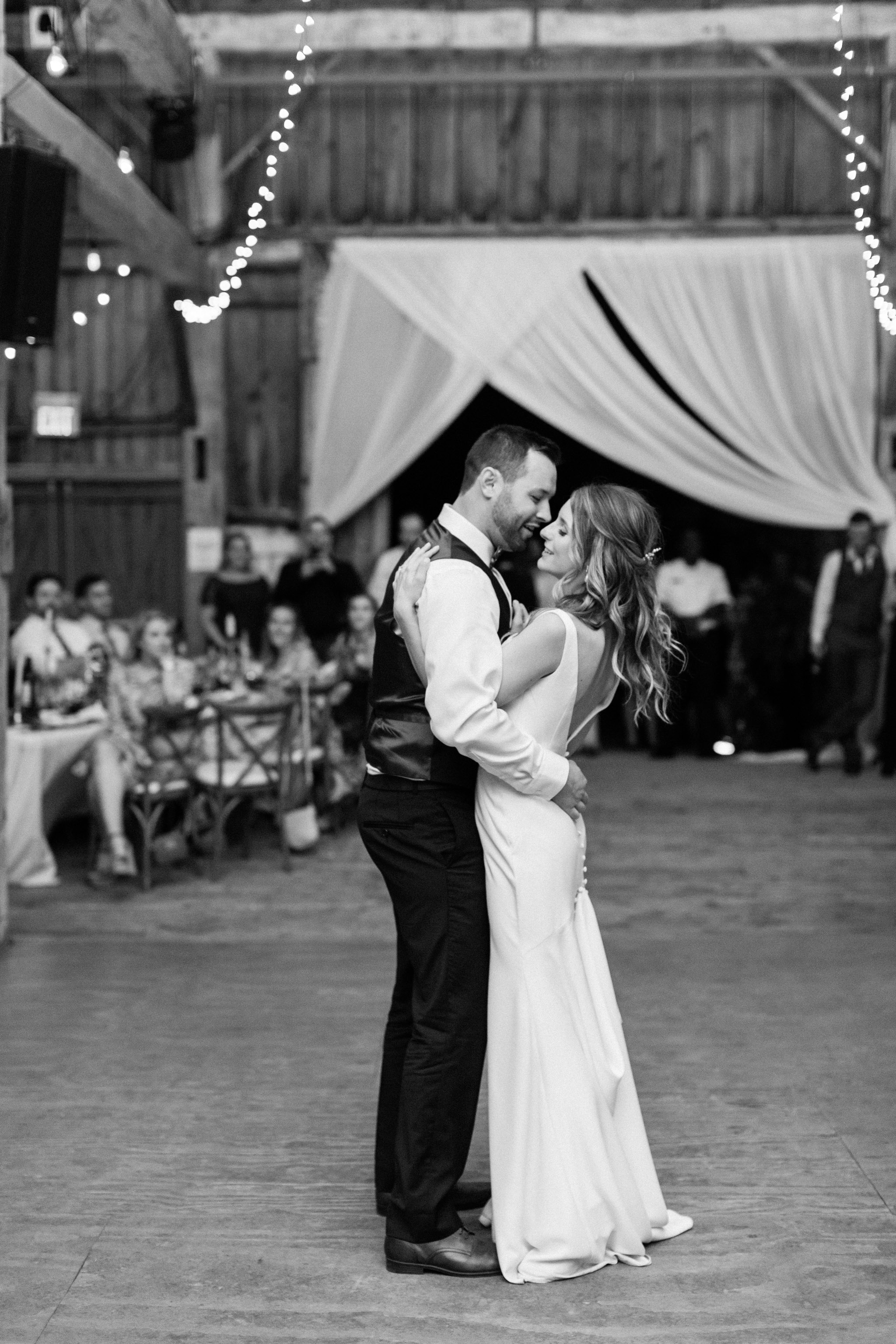 First dance photos.