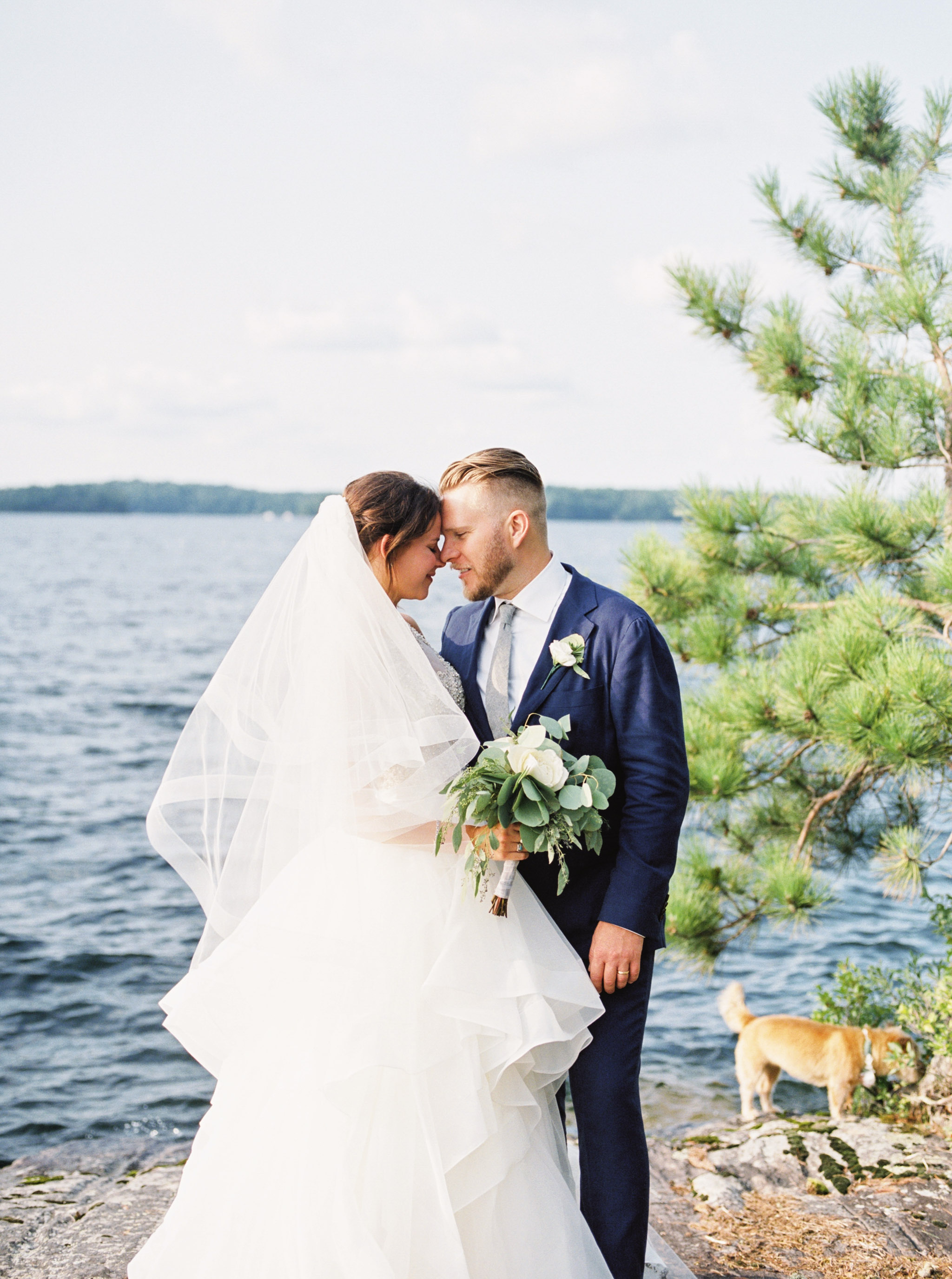Summer weddings in Muskoka.