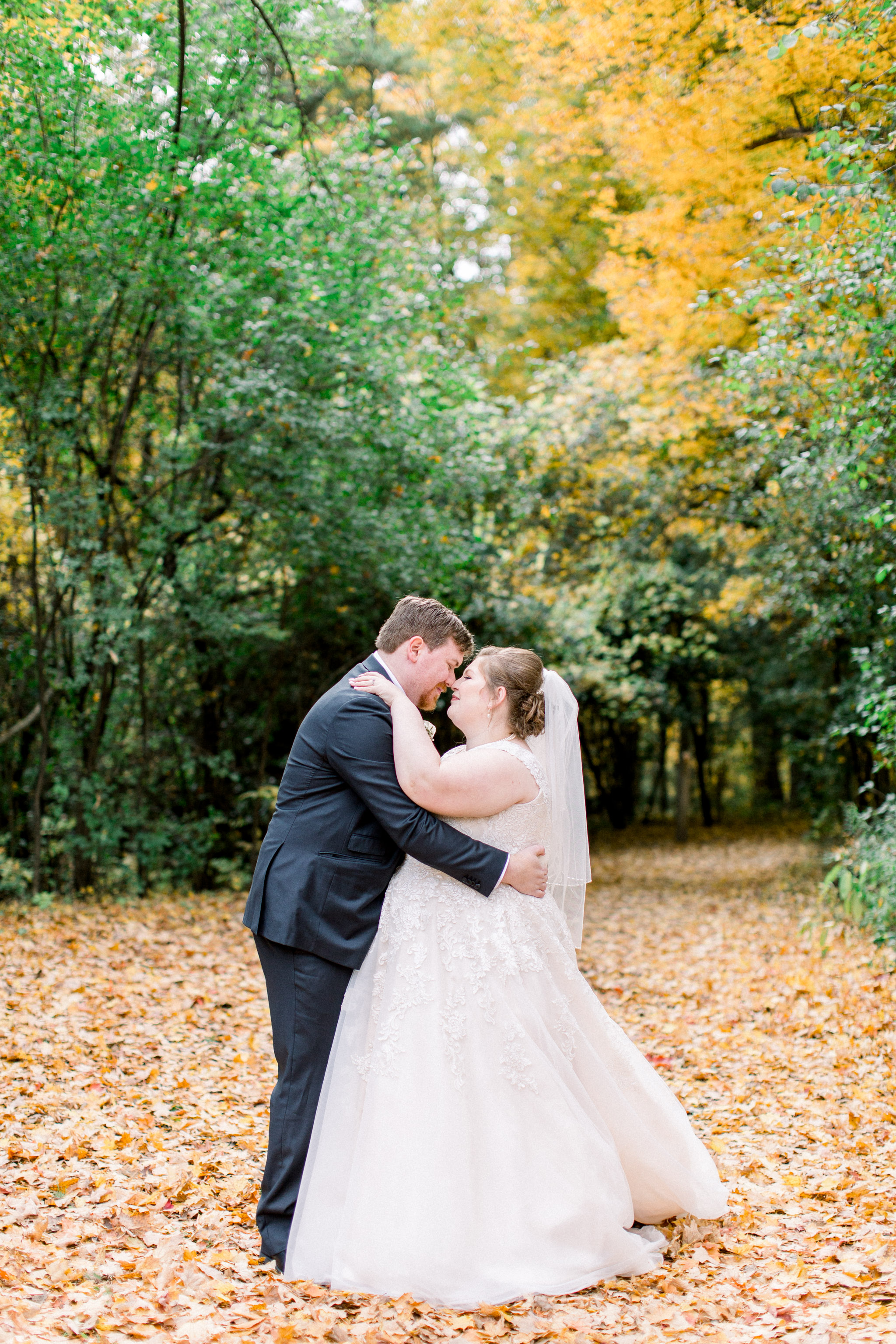 fall wedding photos.