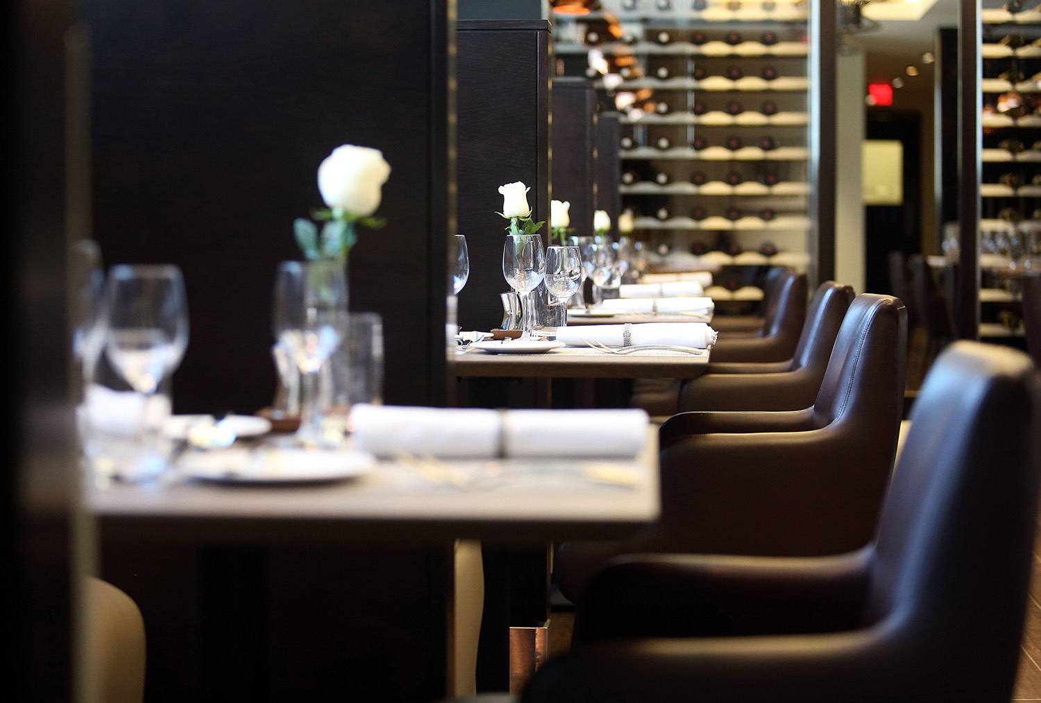 SENTIENT Dining Chairs & Tables for British Airways Concorde Room at Dulles Airport