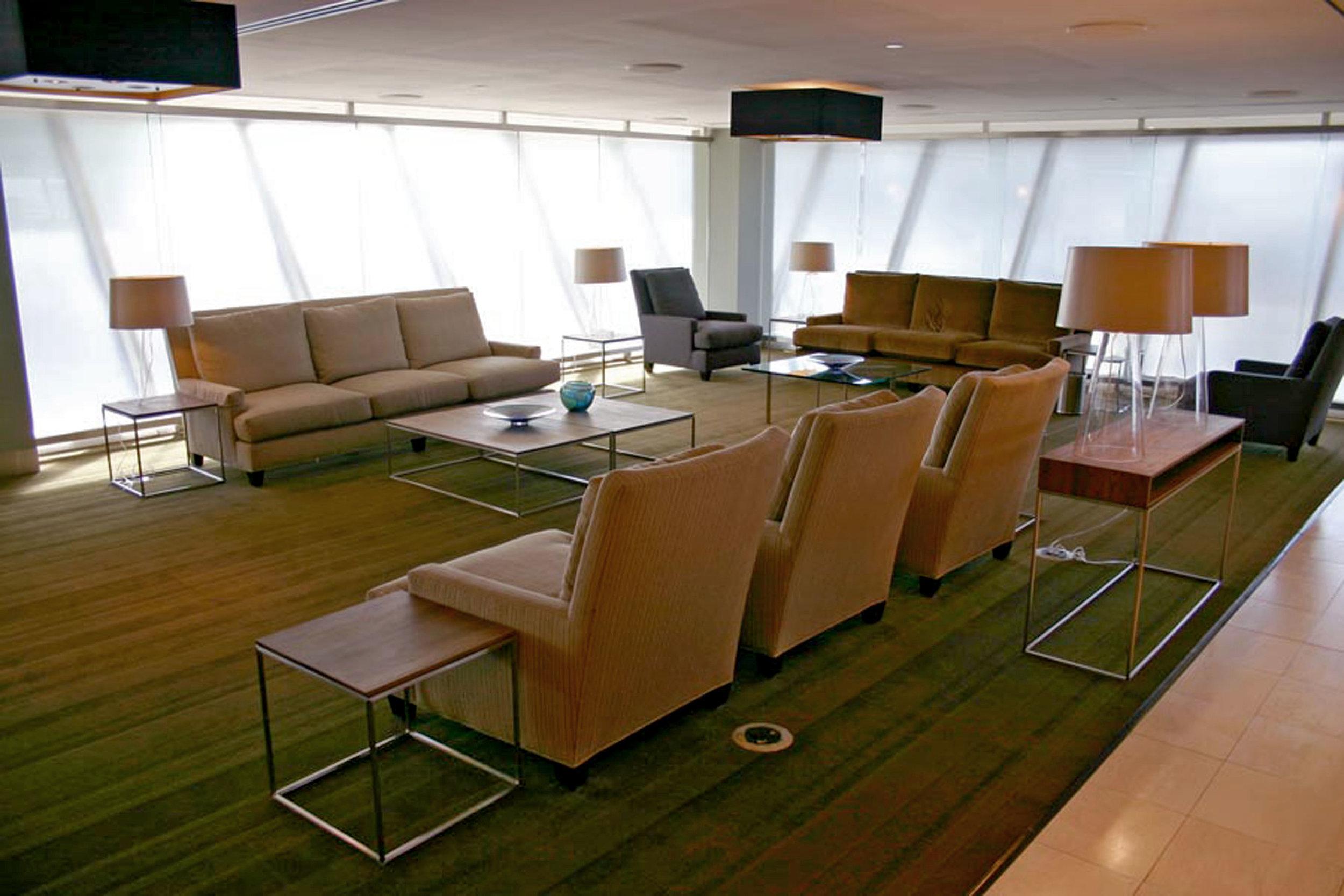SENTIENT at JFK Airport in British Airways First Class Lounge