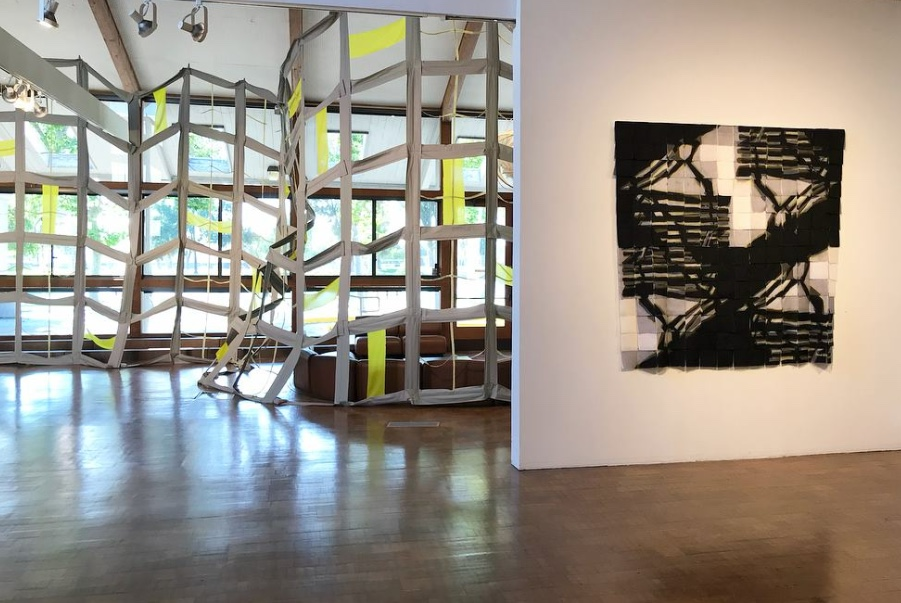 Lesley Kice Nishigawara: Repeat   View of show, Irvine Fine Arts Center  2018