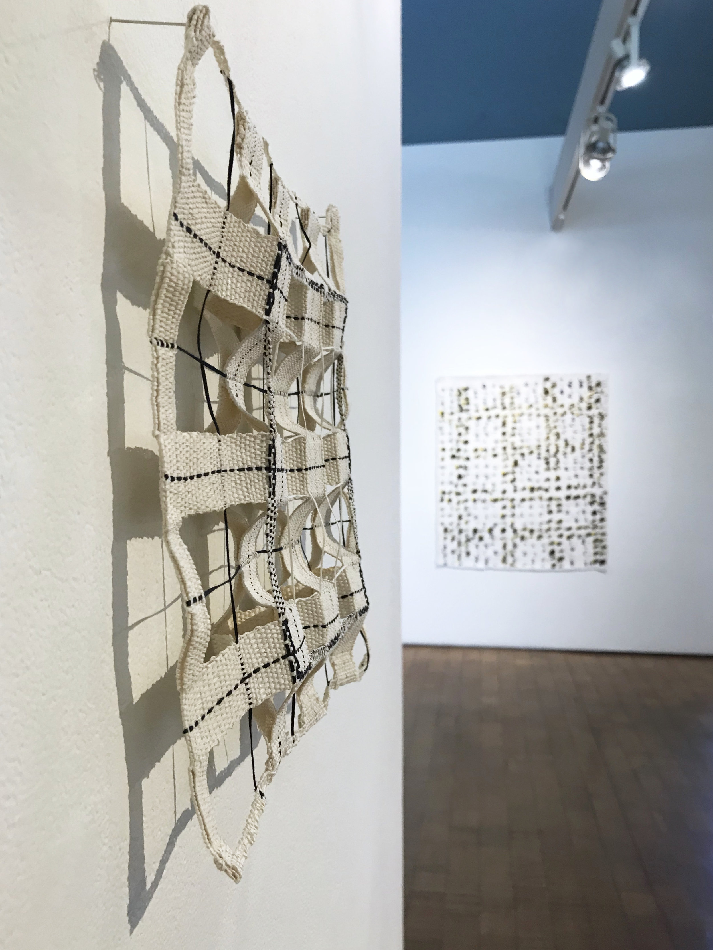 Woven Grid, detail