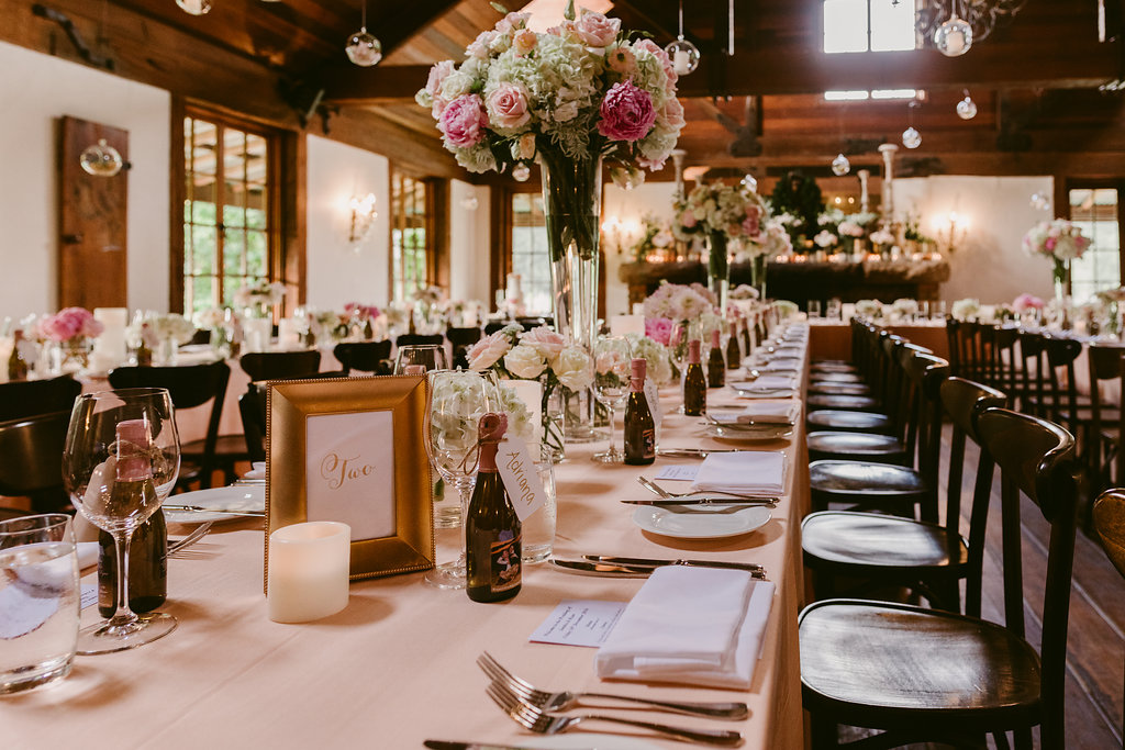Peonies Hydrangeas Flower Centrepiece + Tabletop Hire - Wedding Flowers & Styling Hunter Valley