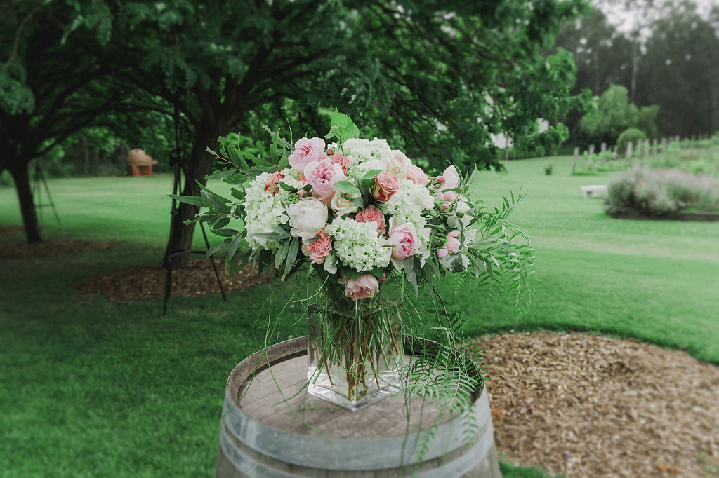 Ceremony Arrangement - Wedding Flowers Hunter Valley