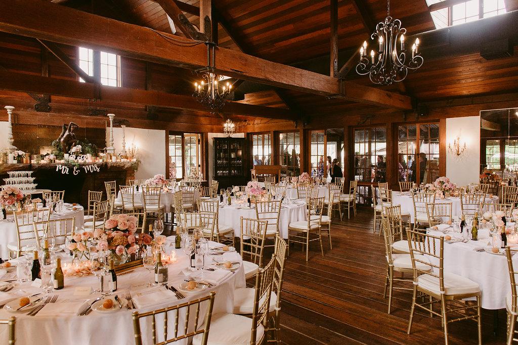 Gold Tiffany Chair Wedding Reception - Wedding Flowers, Styling & Planning Hunter Valley