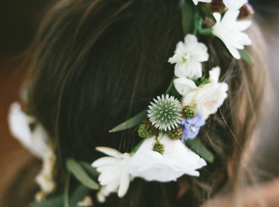 Native Flower Crown - Wedding Flowers Hunter Valley