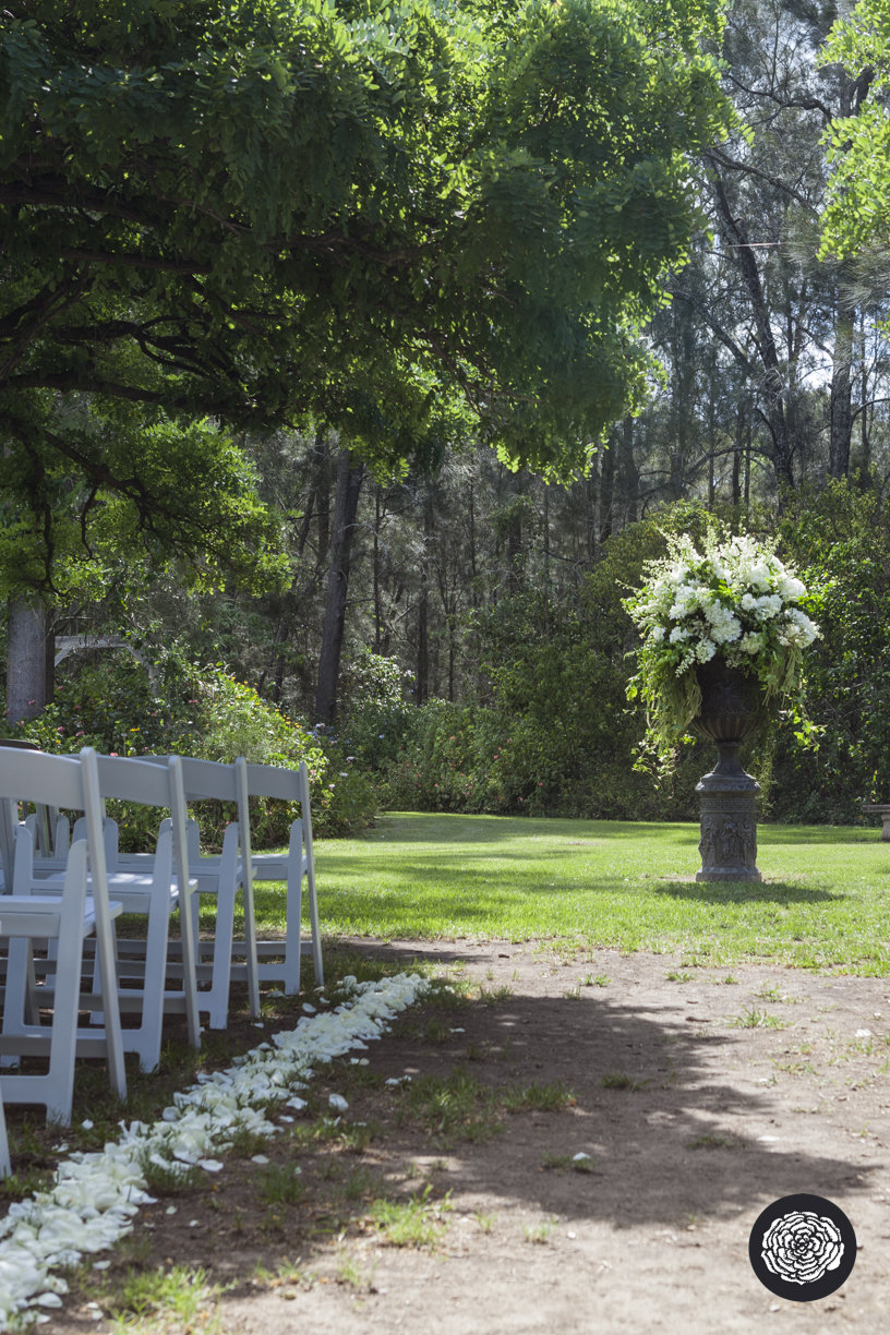 Ceremony Arrangement - Wedding Flowers Hunter Valley