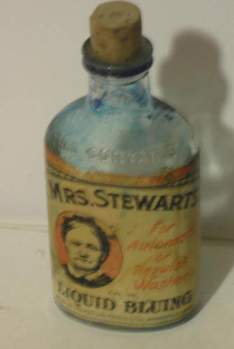 Mrs. Stewart's Liquid Bluing Laundry Bottle