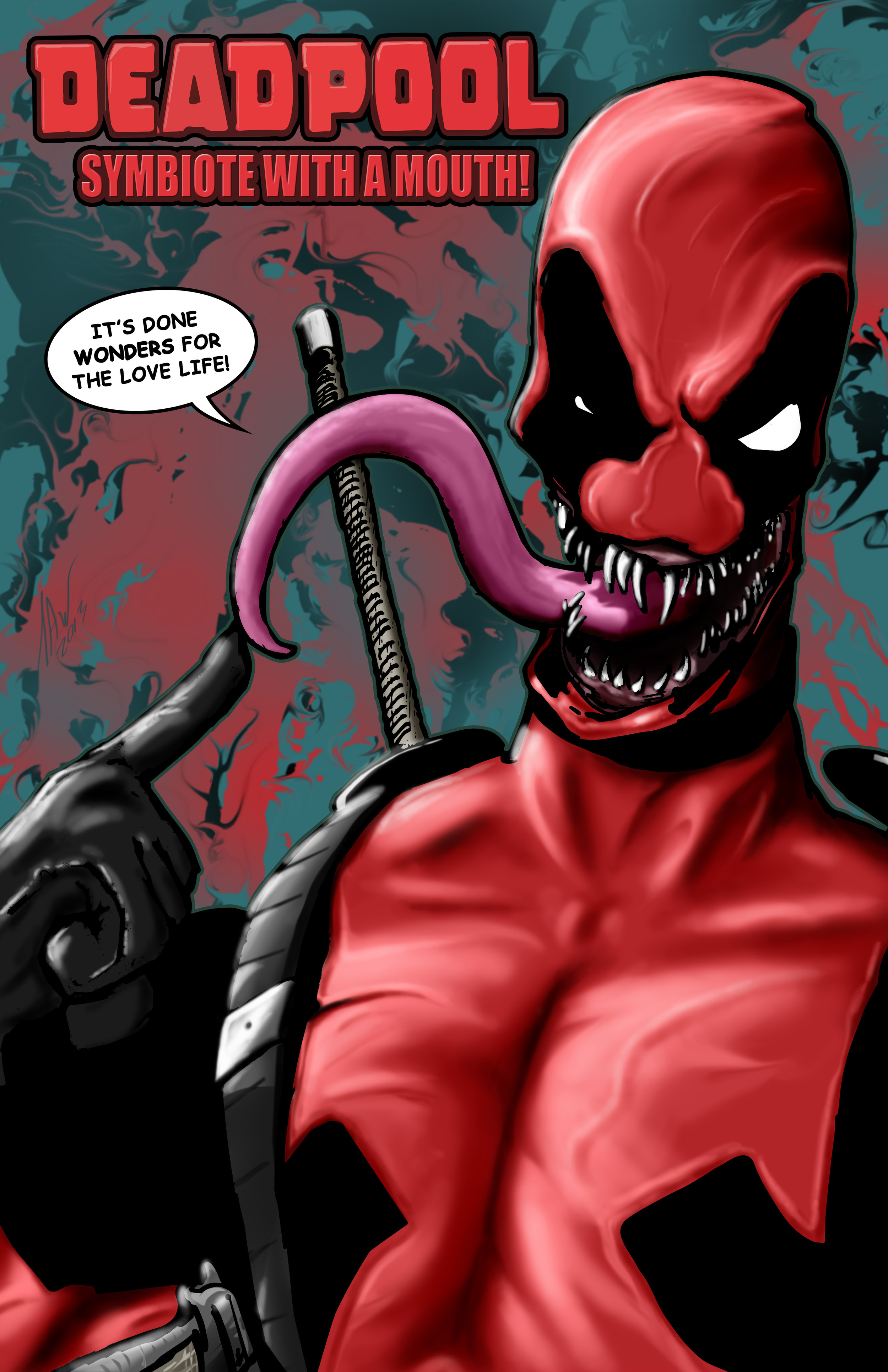 Deadpool-Symbiote with a Mouth 11x17.jpg
