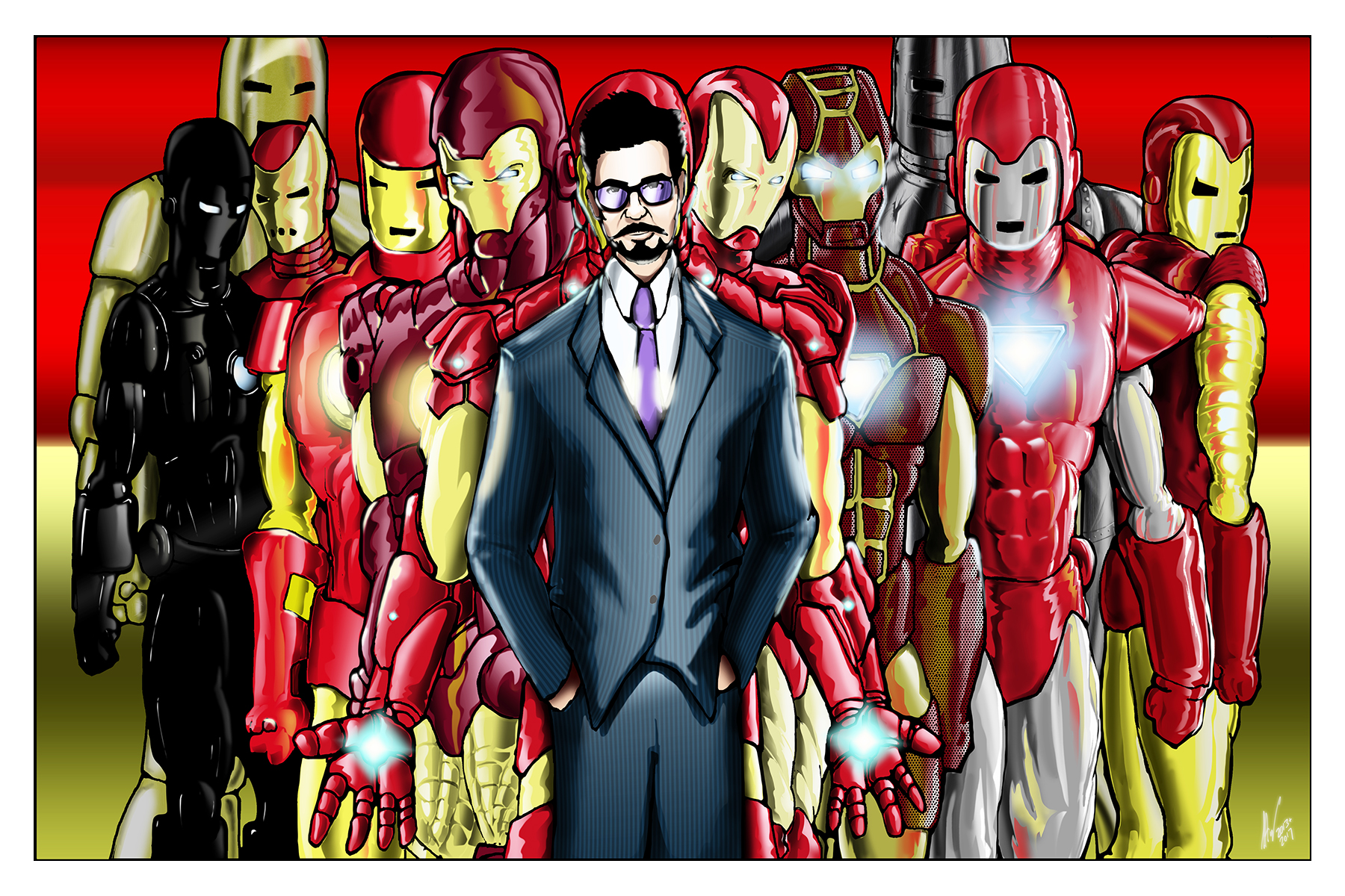 Iron Man-A Man and His Suits 11x17 copy.jpg