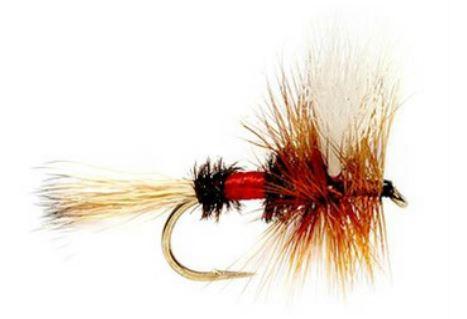 Tie Breaker:Royal Wulff - (Size 12)