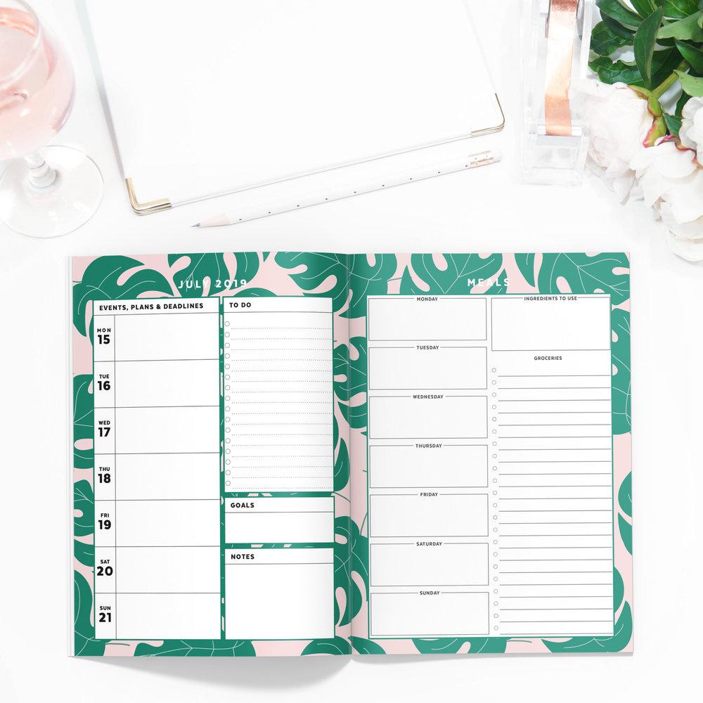Palms Printable Planner
