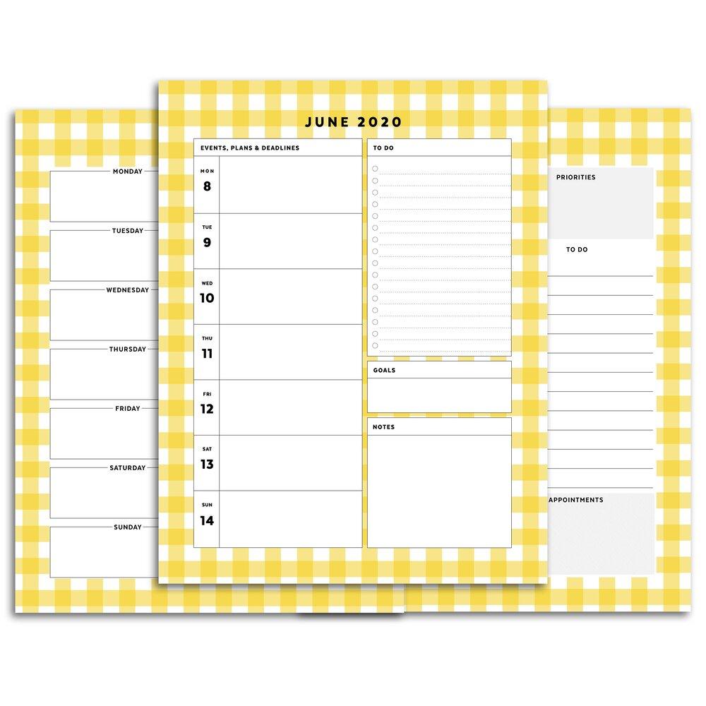 June 2020 Printable Planner