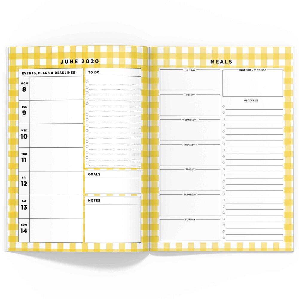 June 2020 Travelers Notebook