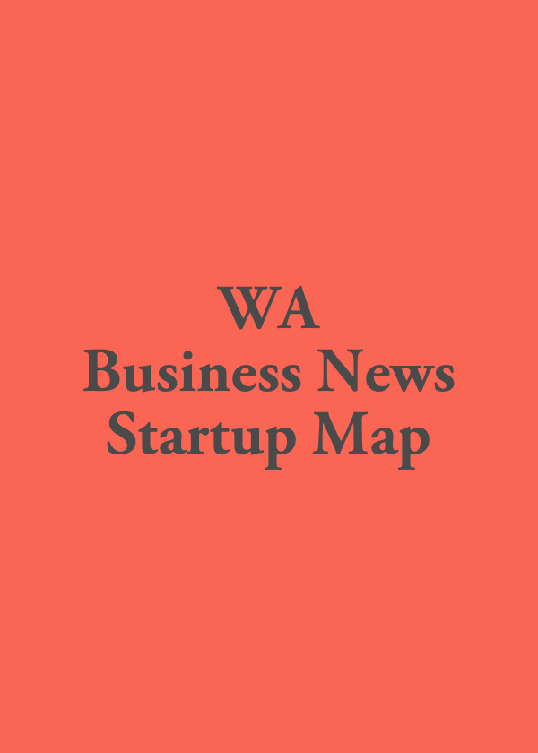 WA Business News Startup Map