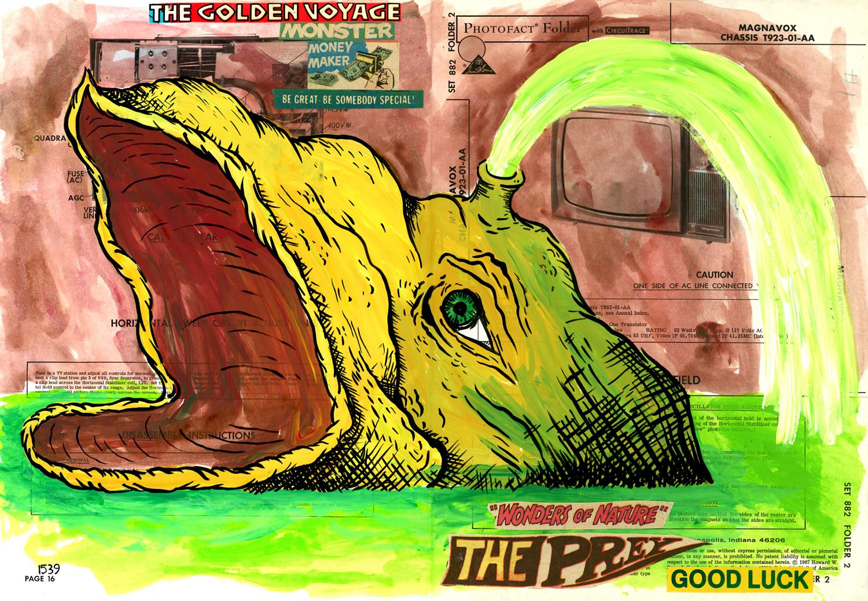 The Golden Voyage / Monster Money Maker